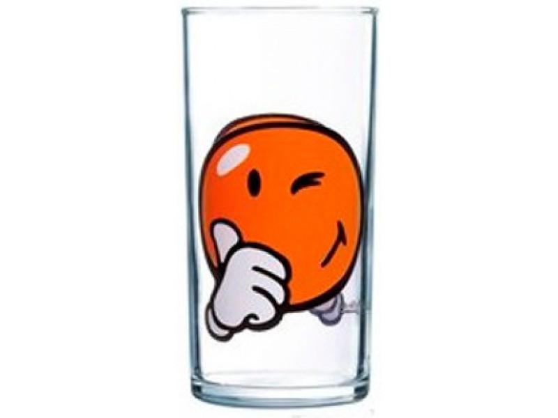 Стакан Luminarc Smiley World First, 270 млVT-1520(SR)Стакан Luminarc Smiley World First изготовлен из высококачественного стекла. Такой стакан прекрасно подойдет для различных напитков. Он дополнит коллекцию вашей кухонной посуды и будет служить долгие годы. Можно использовать в посудомоечной машине и СВЧ. Диаметр стакана (по верхнему краю): 6 см. Высота: 12 см.