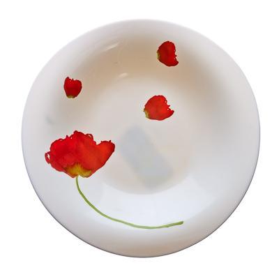 Тарелка Luminarc Insouciance, диаметр 23 смJ2412Тарелка Luminarc Insouciance выполнена из ударопрочного стекла и украшена изображением цветов. Она прекрасно впишется в интерьер вашей кухни и станет достойным дополнением к кухонному инвентарю. Тарелка Luminarc Insouciance подчеркнет прекрасный вкус хозяйки и станет отличным подарком. Диаметр тарелки (по верхнему краю): 23 см.
