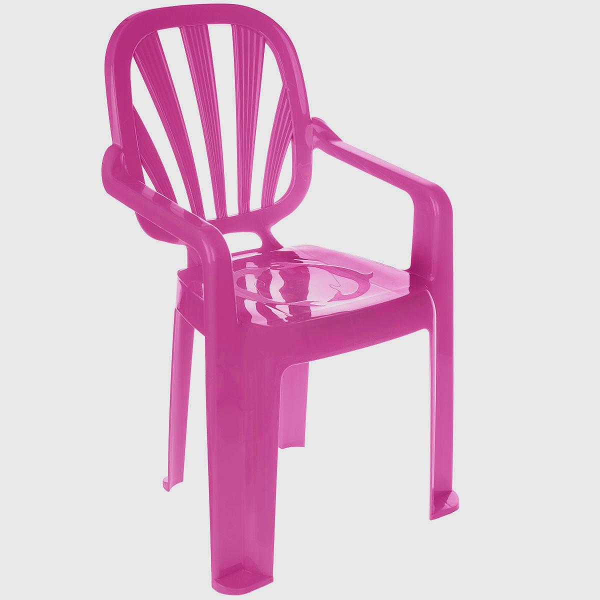 Idea Стульчик детский Арлекино цвет малиновыйFS-91909Детский стульчик Idea Арлекино выполнен из высококачественного пластика. Прочный и удобный, без острых углов, легко транспортируемый стул прослужит вам долгие годы. Сиденье стульчика оформлено рельефным изображением дельфинов. Надежная опора ножек предотвращает опрокидывание стула. Детский стул Idea Арлекино порадует вашего ребенка.