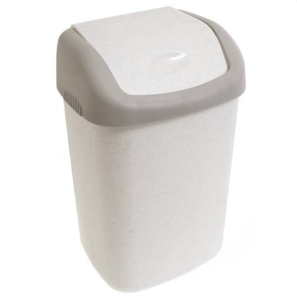 Контейнер для мусора Полимербыт, 14 л. С32797678Контейнер для мусора Полимербыт изготовлен из высококачественного прочного пластика. Предназначен для хранения мусора. Специальная подвижная крышка позволяет удобно выбрасывать мусор. Изделие прекрасно впишется в интерьер дома или офиса. Практичное и полезное приобретение в хозяйстве.
