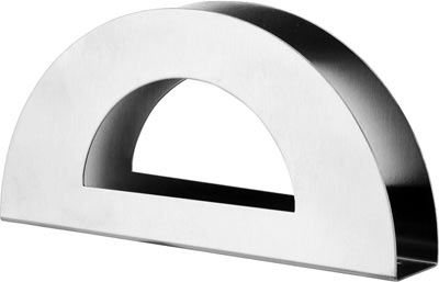 Салфетница Calve. CL-4116115510Салфетница Calve изготовлена из высококачественной нержавеющей стали 18/10. Эксклюзивный дизайн, эстетичность и функциональность сделают ее красивым дополнением сервировки стола и полезным приобретением для вашей кухни. Изделие можно мыть в посудомоечной машине.