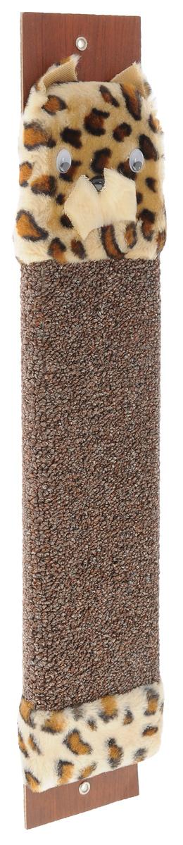 Когтеточка настенная Гамма Кот, с пропиткой, цвет: коричневый, 57 см х 11 см25875Когтеточка Гамма Кот выполнена из оргалита и ковролина в виде доски. Когтеточка предназначена для стачивания когтей вашего питомца. Натуральное волокно когтеточки обеспечивает естественный уход за когтями кошки, предотвращая их врастание. Специальная пропитка привлекает внимание кошки, что позволяет сохранить мебель и другие предметы интерьера.Установите когтеточку в любом доступном для кошки месте и закрепите ее наиболее подходящим для вас способом.Размер: 57 см х 11 см.