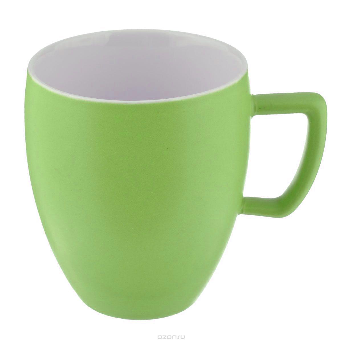 Кружка Tescoma Crema Tone, цвет: светло-зеленый, 300 мл115610Кружка Tescoma Crema Tone, изготовленная из высококачественного фарфора, прекрасно дополнит интерьер вашей кухни. Изящный дизайн кружки придется по вкусу и ценителям классики, и тем, кто предпочитает утонченность и изысканность. Кружка Tescoma Crema Tone станет хорошим подарком к любому празднику. Диаметр (по верхнему краю): 8 см.Высота: 10 см.