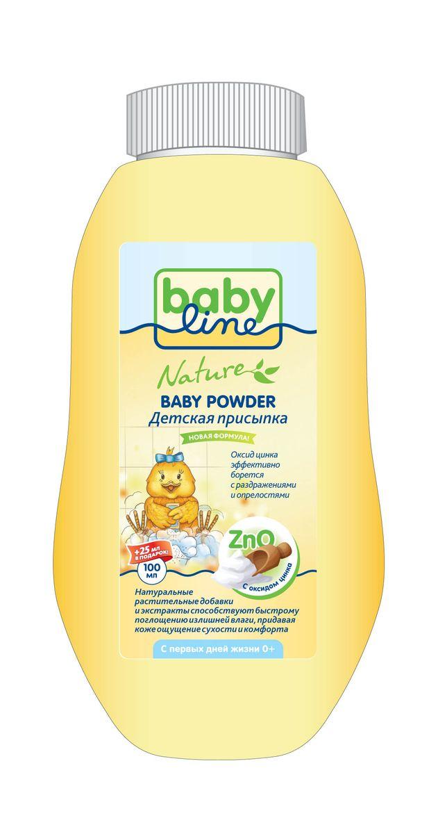 BabyLine Присыпка, 100 гSatin Hair 7 BR730MNОксид цинка в составе присыпки обладает противовоспалительным, адсорбирующими, подсушивающими, и антисептическими свойствами.