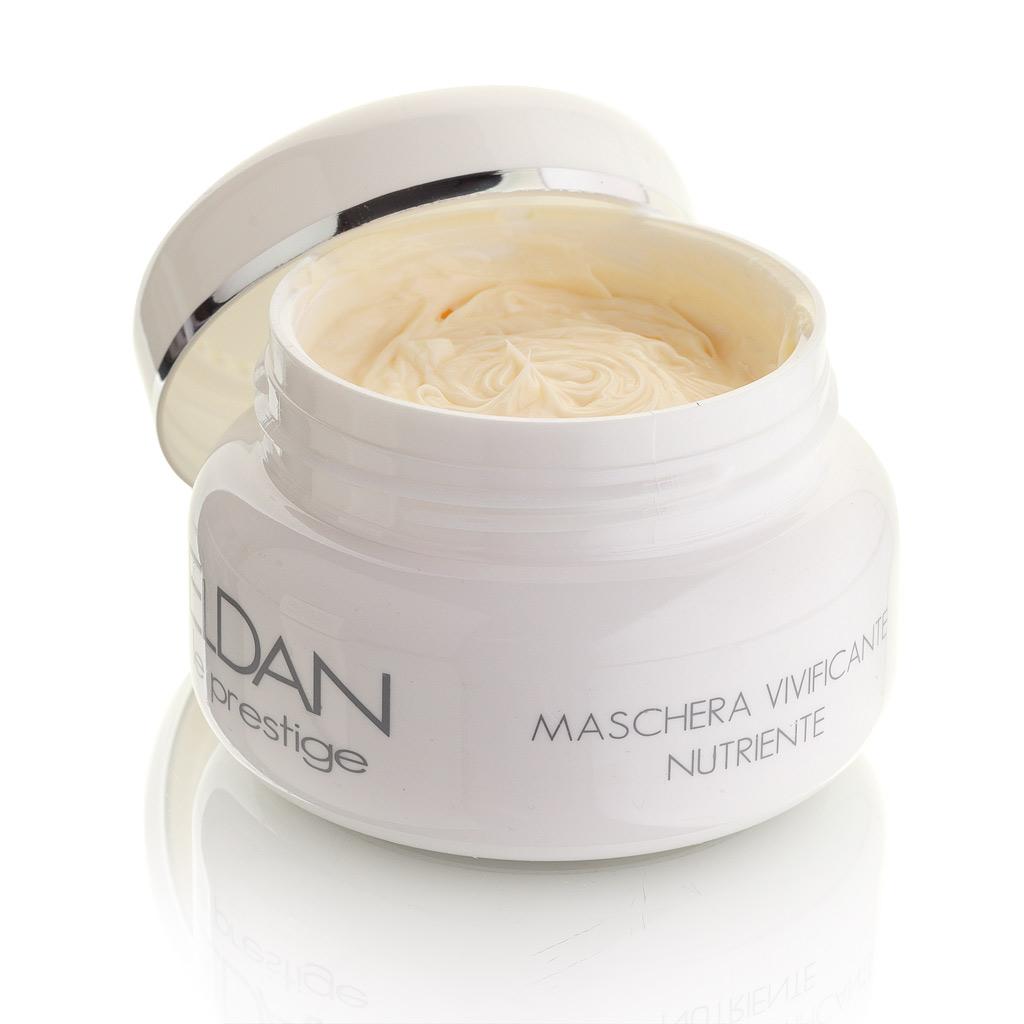 ELDAN cosmetics Оживляющая маска для лица Le Prestige, 100 млELD-25Прекрасно снимает следы усталости и стресса, одновременно укрепляя, увлажняя и питая кожу лица. Активные масла и бета-каротин в составе маски восстанавливают гидролипидную мантию, стимулируют процесс регенерации клеток, повышая тонус и эластичность кожи, а витамины оказывают антиоксидантное и стимулирующее действие, делая ее упругой и сияющей