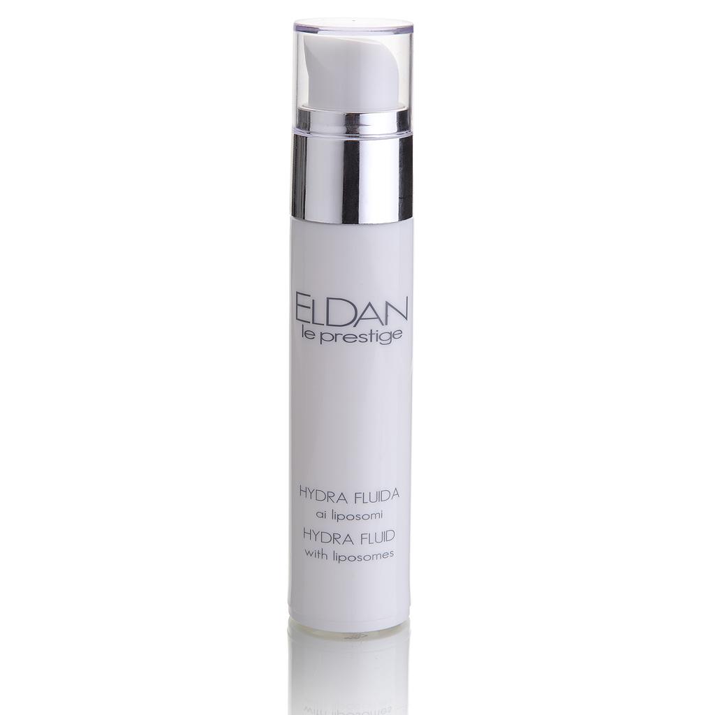 ELDAN cosmetics Увлажняющее средство с липосомами для лица Le Prestige, 50 мл72523WDБлагодаря липосомам, активные компоненты максимально глубоко транспортируются в кожу и обеспечивают идеальный уровень ее гидратации. Средство оказывает заживляющее, противомикробное, противовоспалительное и иммуномодулирующее действие, обладает антиоксидантными свойствами и стимулирует регенерацию. Рекомендуется использовать в сочетании с кремом или маской.