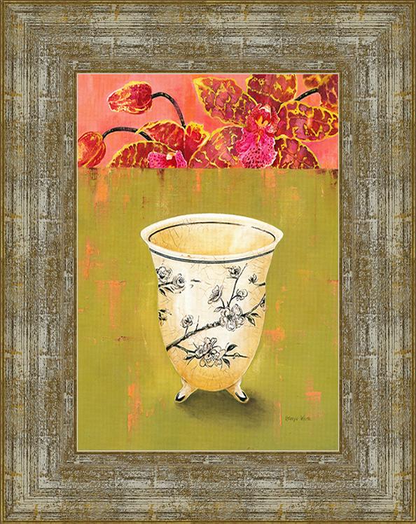 Kiwi Orchid Detail (Kathryn White),17 х 22 смM2150_желтыйХудожественная репродукция картины Kathryn White Kiwi Orchid Detail.Размер постера:17 см х 22 см. Артикул:17x22 D3000-414095. Изображение нанесено на чрезвычайно плотную основу (это не бумага и не картон) и обрамлено в багет.Технология изготовления арт-постеров подразумевает обязательную художественную ламинацию каждого изображения, чтопридает картине дополнительную ценность, а также защищает поверхность от загрязнения, повреждений (в том числе попыток помять, исцарапать изображение), влаги и ультрафиолетовых лучей. Так, например, наши арт-постеры совершенно спокойно перенесут не одну зиму в дачном или загородном доме.Ламинирование может значительно улучшить качество изображения. Использование пленок дает различную фактуру лицевой поверхности изображения (глянцевую, матовую, холщевую, ситцевую, льняную и другие). Например, при использовании глянцевых пленок изображение проявляется - краски становятся более контрастными исочными. Технология художественного ламинирования максимально приближает изображение к натуральной картине (холст, масло), акварели.Отличить арт-постер, изготовленный по такой технологии, от копии, нарисованной художником можно лишь при детальном пристальном рассмотрении. Рассматривая арт-постер с расстояния свыше 1 метра - вы не заметите никаких отличий. А компьютерная точность воспроизведения, исключающая неточность руки копировальщика, создаст в Вашем доме ощущение присутствия настоящего шедевра, не подвластного времени. Именно поэтому арт-постеры являютсяпризнанным стандартом изготовления копий художественных произведений.При обрамлении изображений, поверхность которых защищена художественной ламинацией, стекло не требуется. А это означает отсутствие раздражающих бликов, возможности случайно разбить стекло, уменьшается вес Арт-постера.