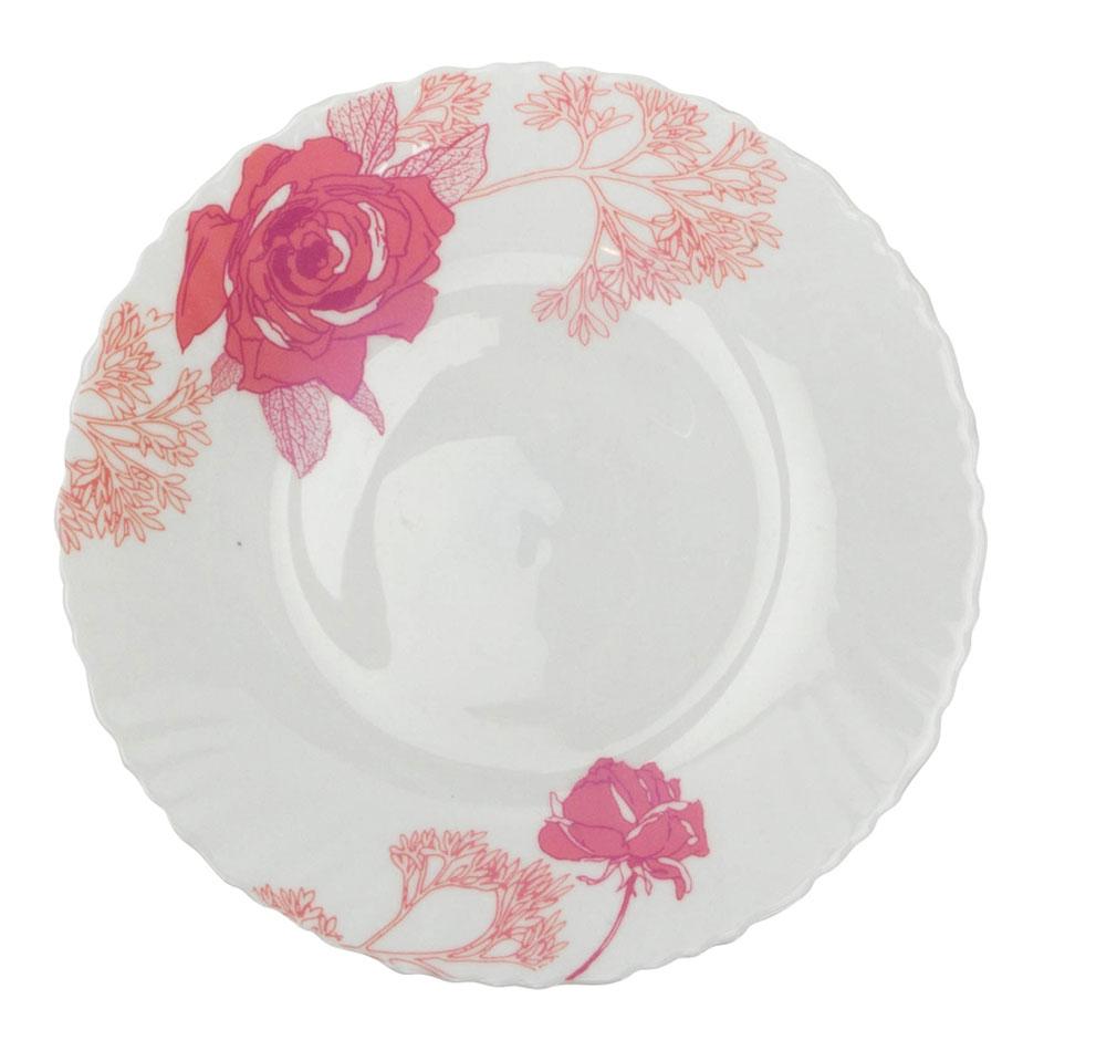 Тарелка обеденная Chinbull Ля Руж, диаметр 24 см115510Обеденная тарелка Chinbull Ля Руж, изготовленная из высококачественной стеклокерамики, украшена ярким цветочным рисунком. Изящный дизайн придется по вкусу и ценителям классики, и тем, кто предпочитает утонченность. Тарелка Chinbull Ля Руж идеально подойдет для сервировки стола и станет отличным подарком к любому празднику.Диаметр (по верхнему краю): 24 см.