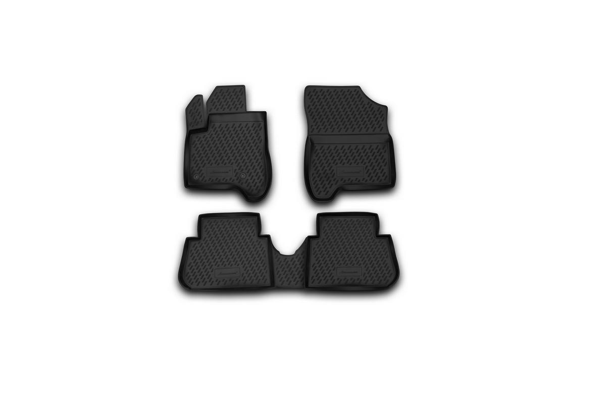 Набор автомобильных ковриков Novline-Autofamily для Citroen C3 Picasso 2009-, в салон, 4 штCARCRN00027Набор автомобильных ковриков Novline-Autofamily, изготовленный из полиуретана, состоит из 4 ковриков, которые учитывают все особенности каждой модели автомобиля и полностью повторяют контуры пола. Полиуретановые автомобильные коврики для салона произведены из высококачественного материала, который держит форму, прочный и не пачкает обувь. Коврики в салон не только улучшат внешний вид салона вашего автомобиля, но и надежно уберегут его от пыли, грязи и сырости, а значит, защитят кузов от коррозии. Полиуретановые коврики для автомобиля гладкие, приятные и не пропускают влагу. Ковры для автомобилей надежно крепятся на полу и не скользят, что очень важно во время движения. Чистятся коврики очень просто: как при помощи автомобильного пылесоса, так и различными моющими средствами. Набор подходит для Citroen C3 Picasso с 2009 года выпуска.