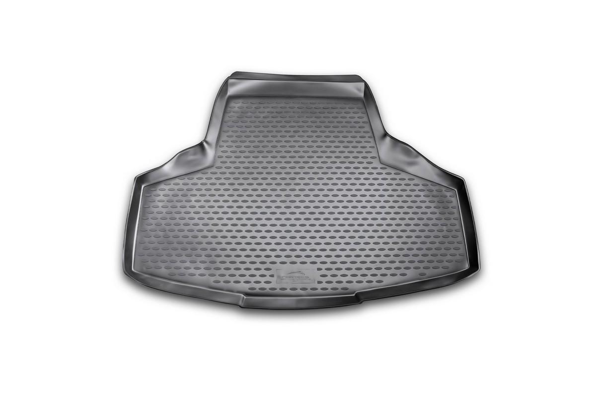 Коврик автомобильный Novline-Autofamily для Infiniti M седан 2010-, в багажникFS-80264Автомобильный коврик Novline-Autofamily, изготовленный из полиуретана, позволит вам без особых усилий содержать в чистоте багажный отсек вашего авто и при этом перевозить в нем абсолютно любые грузы. Этот модельный коврик идеально подойдет по размерам багажнику вашего автомобиля. Такой автомобильный коврик гарантированно защитит багажник от грязи, мусора и пыли, которые постоянно скапливаются в этом отсеке. А кроме того, поддон не пропускает влагу. Все это надолго убережет важную часть кузова от износа. Коврик в багажнике сильно упростит для вас уборку. Согласитесь, гораздо проще достать и почистить один коврик, нежели весь багажный отсек. Тем более, что поддон достаточно просто вынимается и вставляется обратно. Мыть коврик для багажника из полиуретана можно любыми чистящими средствами или просто водой. При этом много времени у вас уборка не отнимет, ведь полиуретан устойчив к загрязнениям.Если вам приходится перевозить в багажнике тяжелые грузы, за сохранность коврика можете не беспокоиться. Он сделан из прочного материала, который не деформируется при механических нагрузках и устойчив даже к экстремальным температурам. А кроме того, коврик для багажника надежно фиксируется и не сдвигается во время поездки, что является дополнительной гарантией сохранности вашего багажа.Коврик имеет форму и размеры, соответствующие модели данного автомобиля.