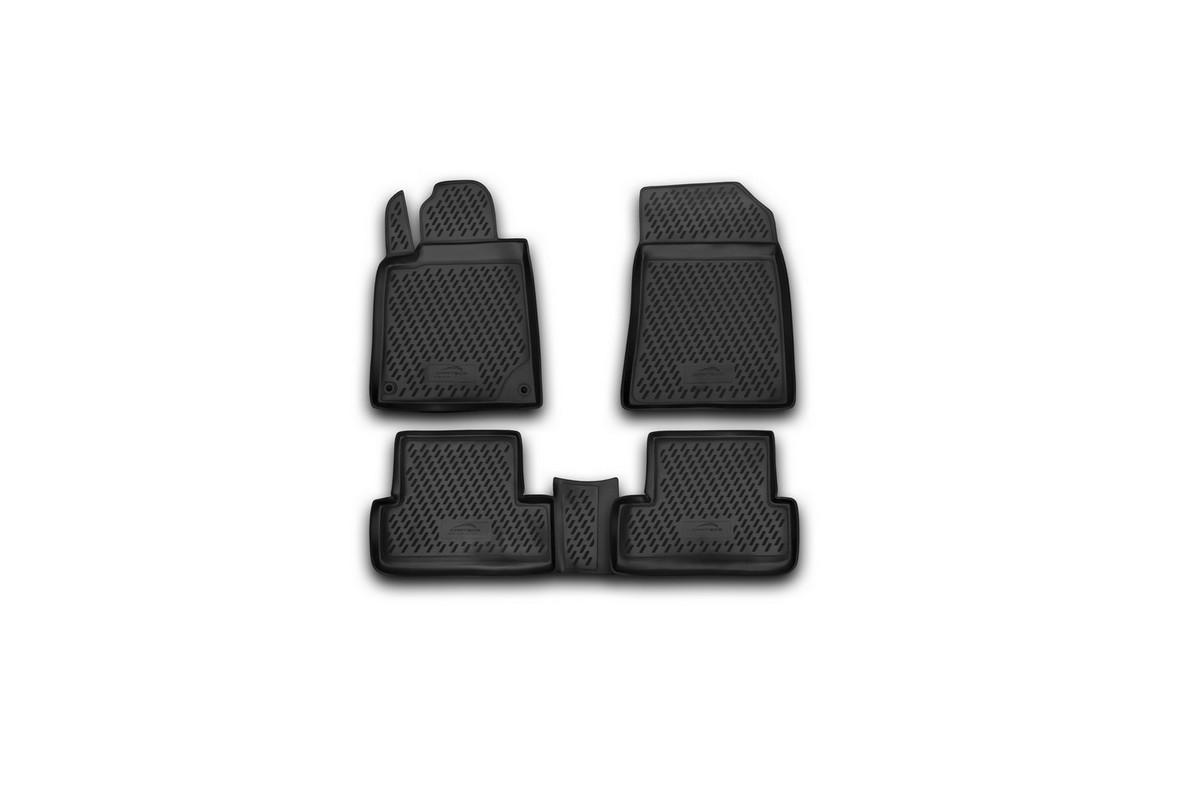 Набор автомобильных ковриков Novline-Autofamily для Peugeot 407 2004-, в салон, 4 штВетерок 2ГФНабор автомобильных ковриков Novline-Autofamily, изготовленный из полиуретана, состоит из 4 ковриков, которые учитывают все особенности каждой модели автомобиля и полностью повторяют контуры пола. Полиуретановые автомобильные коврики для салона произведены из высококачественного материала, который держит форму, прочный и не пачкает обувь. Коврики в салон не только улучшат внешний вид салона вашего автомобиля, но и надежно уберегут его от пыли, грязи и сырости, а значит, защитят кузов от коррозии. Полиуретановые коврики для автомобиля гладкие, приятные и не пропускают влагу. Ковры для автомобилей надежно крепятся на полу и не скользят, что очень важно во время движения. Чистятся коврики очень просто: как при помощи автомобильного пылесоса, так и различными моющими средствами. Набор подходит для Peugeot 407 2004 года выпуска.