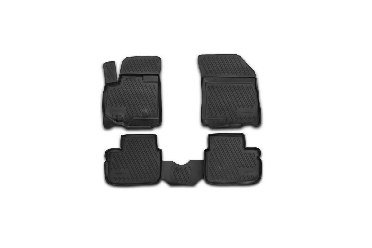 Набор автомобильных ковриков Novline-Autofamily для Suzuki SX4 2010-2013, в салон, 4 шт94672Набор автомобильных ковриков Novline-Autofamily, изготовленный из полиуретана, состоит из 4 ковриков, которые учитывают все особенности каждой модели автомобиля и полностью повторяют контуры пола. Полиуретановые автомобильные коврики для салона произведены из высококачественного материала, который держит форму, прочный и не пачкает обувь. Коврики в салон не только улучшат внешний вид салона вашего автомобиля, но и надежно уберегут его от пыли, грязи и сырости, а значит, защитят кузов от коррозии. Полиуретановые коврики для автомобиля гладкие, приятные и не пропускают влагу. Ковры для автомобилей надежно крепятся на полу и не скользят, что очень важно во время движения. Чистятся коврики очень просто: как при помощи автомобильного пылесоса, так и различными моющими средствами. Набор подходит для Suzuki SX4 2010-2013 годов выпуска.