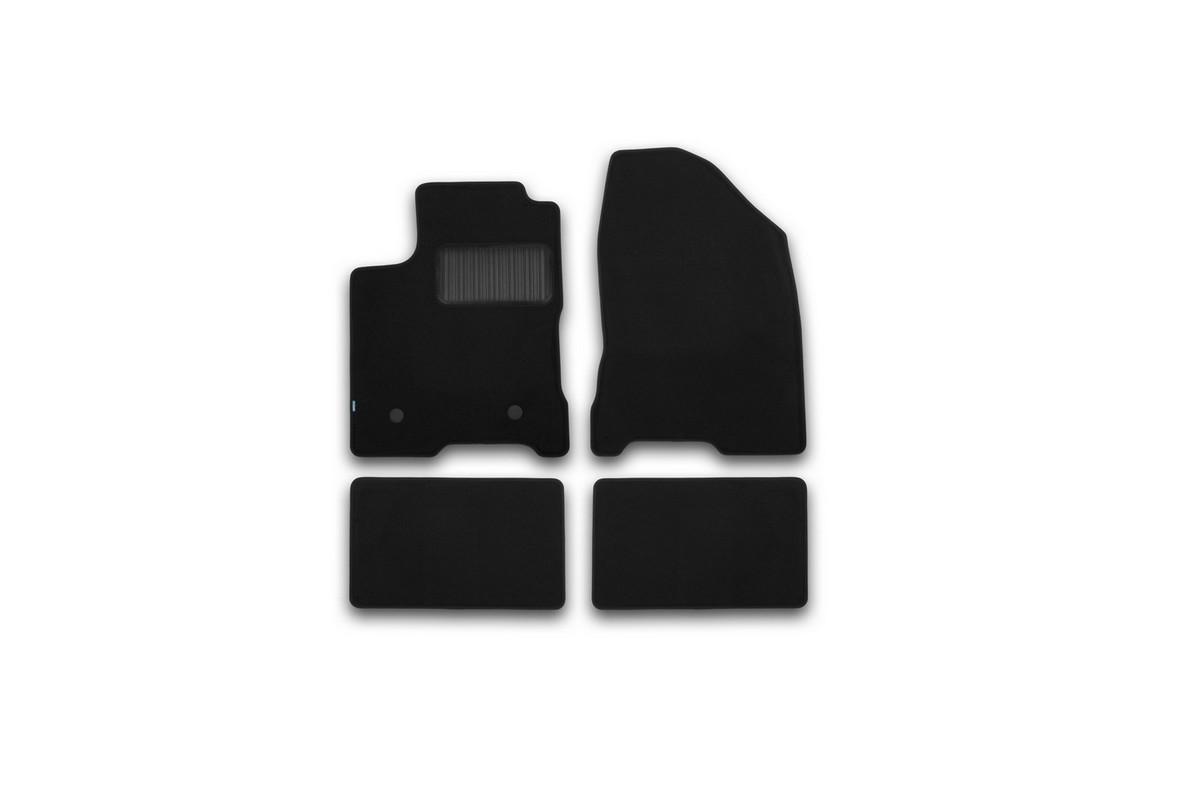 Набор автомобильных ковриков Klever для Lada Vesta 2015-, седан, в салон, 4 шт. KVR03523322110kh98298123_черныйНабор автомобильных ковриков Klever, изготовленный из текстиля, состоит из 4 ковриков, которые учитывают все особенности каждой модели автомобиля и полностью повторяют контуры пола. Текстильные автомобильные коврики для салона произведены из высококачественного материала, который держит форму, прочный и не пачкает обувь. Коврики в салон не только улучшат внешний вид салона вашего автомобиля, но и надежно уберегут его от пыли, грязи и сырости, а значит, защитят кузов от коррозии. Текстильные коврики для автомобиля мягкие и приятные, а их основа из вспененного полиуретана не пропускает влагу. Ковры для автомобилей надежно крепятся на полу и не скользят, что очень важно во время движения. Чистятся коврики очень просто: как при помощи автомобильного пылесоса, так и различными моющими средствами. Набор подходит для Lada Vesta седан с 2015 года выпуска.