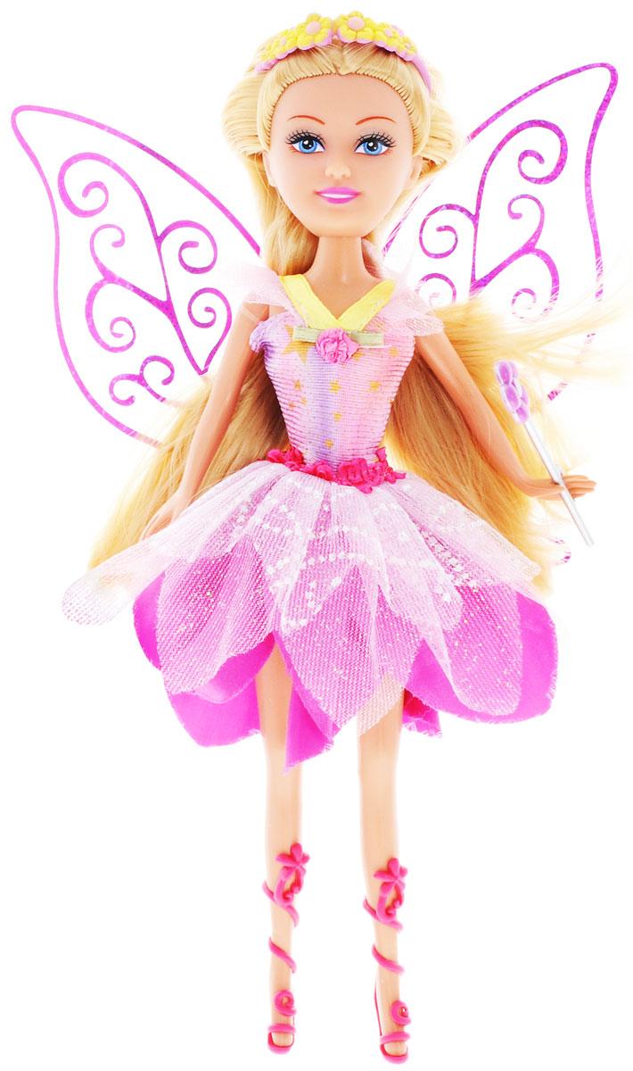 ABtoys Кукла Brilliance Fair Цветочная фея цвет платья розовый кукла brilliance fair балерина 26 5 см