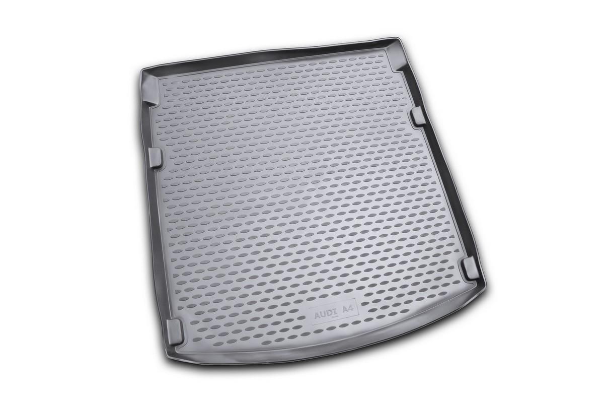Коврик автомобильный Novline-Autofamily для Audi A4 B8 седан 2007-2015, в багажник, цвет: черный21395598Автомобильный коврик Novline-Autofamily, изготовленный из полиуретана, позволит вам без особых усилий содержать в чистоте багажный отсек вашего авто и при этом перевозить в нем абсолютно любые грузы. Этот модельный коврик идеально подойдет по размерам багажнику вашего автомобиля. Такой автомобильный коврик гарантированно защитит багажник от грязи, мусора и пыли, которые постоянно скапливаются в этом отсеке. А кроме того, поддон не пропускает влагу. Все это надолго убережет важную часть кузова от износа. Коврик в багажнике сильно упростит для вас уборку. Согласитесь, гораздо проще достать и почистить один коврик, нежели весь багажный отсек. Тем более, что поддон достаточно просто вынимается и вставляется обратно. Мыть коврик для багажника из полиуретана можно любыми чистящими средствами или просто водой. При этом много времени у вас уборка не отнимет, ведь полиуретан устойчив к загрязнениям.Если вам приходится перевозить в багажнике тяжелые грузы, за сохранность коврика можете не беспокоиться. Он сделан из прочного материала, который не деформируется при механических нагрузках и устойчив даже к экстремальным температурам. А кроме того, коврик для багажника надежно фиксируется и не сдвигается во время поездки, что является дополнительной гарантией сохранности вашего багажа.Коврик имеет форму и размеры, соответствующие модели данного автомобиля.