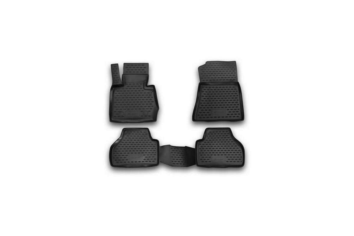 Коврики в салон BMW X3, 2010-> 4 шт. (полиуретан)21395599Коврики в салон не только улучшат внешний вид салона вашего автомобиля, но и надежно уберегут его от пыли, грязи и сырости, а значит, защитят кузов от коррозии. Полиуретановые коврики для автомобиля гладкие, приятные и не пропускают влагу. Автомобильные коврики в салон учитывают все особенности каждой модели и полностью повторяют контуры пола. Благодаря этому их не нужно будет подгибать или обрезать. И самое главное — они не будут мешать педалям.Полиуретановые автомобильные коврики для салона произведены из высококачественного материала, который держит форму и не пачкает обувь. К тому же, этот материал очень прочный (его, к примеру, не получится проткнуть каблуком).Некоторые автоковрики становятся источником неприятного запаха в автомобиле. С полиуретановыми ковриками Novline вы можете этого не бояться.Ковры для автомобилей надежно крепятся на полу и не скользят, что очень важно во время движения, особенно для водителя.Автоковры из полиуретана надежно удерживают грязь и влагу, при этом всегда выглядят довольно опрятно. И чистятся они очень просто: как при помощи автомобильного пылесоса, так и различными моющими средствами.