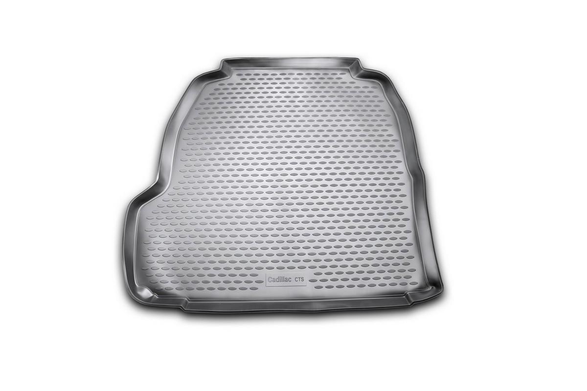 Коврик автомобильный Novline-Autofamily для Cadillac CTS седан 06/2007-, в багажник, цвет: черныйNLC.07.04.B10Автомобильный коврик Novline-Autofamily, изготовленный из полиуретана, позволит вам без особых усилий содержать в чистоте багажный отсек вашего авто и при этом перевозить в нем абсолютно любые грузы. Этот модельный коврик идеально подойдет по размерам багажнику вашего автомобиля. Такой автомобильный коврик гарантированно защитит багажник от грязи, мусора и пыли, которые постоянно скапливаются в этом отсеке. А кроме того, поддон не пропускает влагу. Все это надолго убережет важную часть кузова от износа. Коврик в багажнике сильно упростит для вас уборку. Согласитесь, гораздо проще достать и почистить один коврик, нежели весь багажный отсек. Тем более, что поддон достаточно просто вынимается и вставляется обратно. Мыть коврик для багажника из полиуретана можно любыми чистящими средствами или просто водой. При этом много времени у вас уборка не отнимет, ведь полиуретан устойчив к загрязнениям.Если вам приходится перевозить в багажнике тяжелые грузы, за сохранность коврика можете не беспокоиться. Он сделан из прочного материала, который не деформируется при механических нагрузках и устойчив даже к экстремальным температурам. А кроме того, коврик для багажника надежно фиксируется и не сдвигается во время поездки, что является дополнительной гарантией сохранности вашего багажа.Коврик имеет форму и размеры, соответствующие модели данного автомобиля.