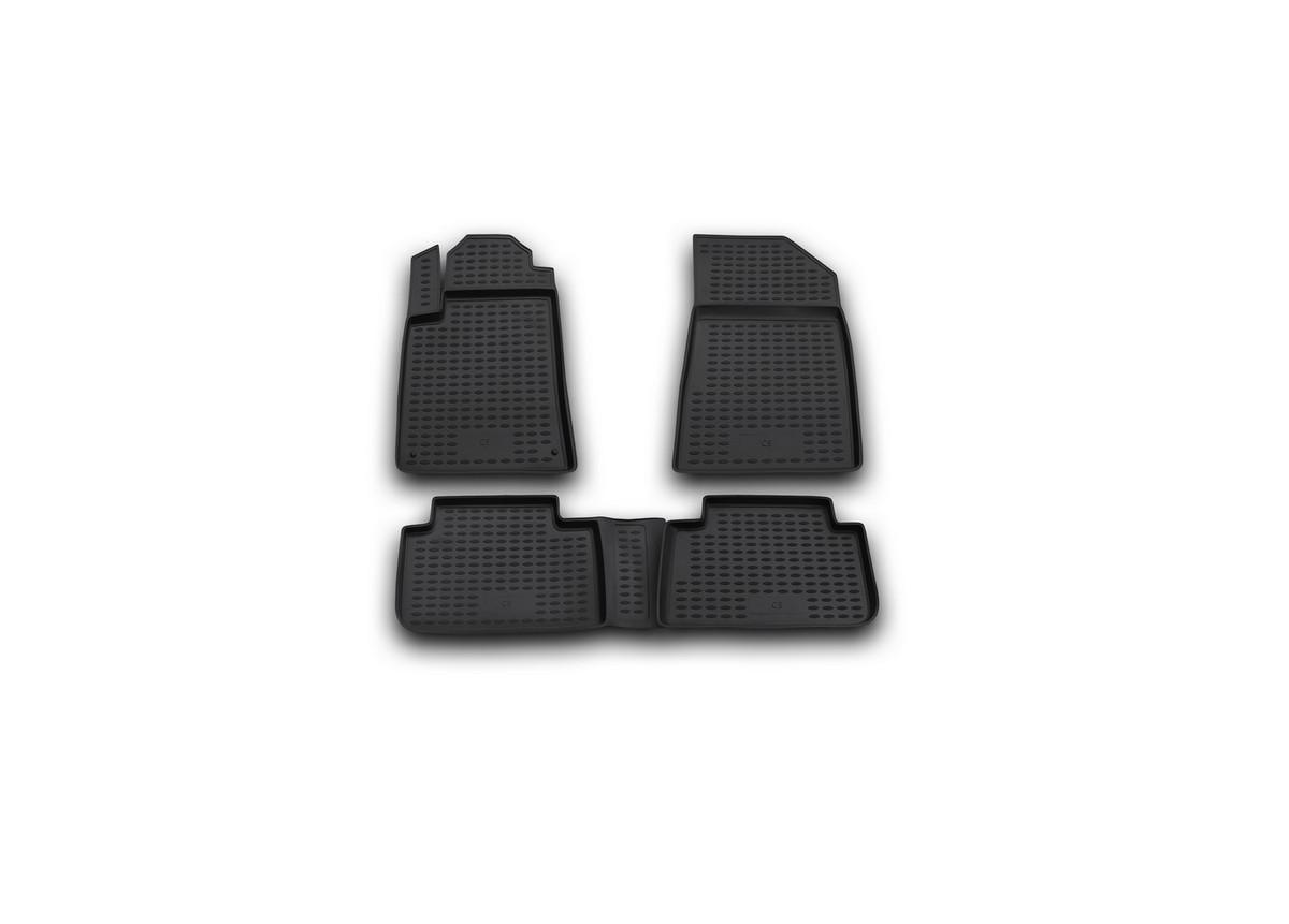 Набор автомобильных ковриков Novline-Autofamily для Citroen C5 2001-01/2008, в салон, 4 шт. NLC.10.08.21021395599Набор автомобильных ковриков Novline-Autofamily, изготовленный из полиуретана, состоит из 4 ковриков, которые учитывают все особенности каждой модели автомобиля и полностью повторяют контуры пола. Полиуретановые автомобильные коврики для салона произведены из высококачественного материала, который держит форму, прочный и не пачкает обувь. Коврики в салон не только улучшат внешний вид салона вашего автомобиля, но и надежно уберегут его от пыли, грязи и сырости, а значит, защитят кузов от коррозии. Полиуретановые коврики для автомобиля гладкие, приятные и не пропускают влагу. Ковры для автомобилей надежно крепятся на полу и не скользят, что очень важно во время движения. Чистятся коврики очень просто: как при помощи автомобильного пылесоса, так и различными моющими средствами. Набор подходит для Citroen C5 2001 - январь 2008 годов выпуска.