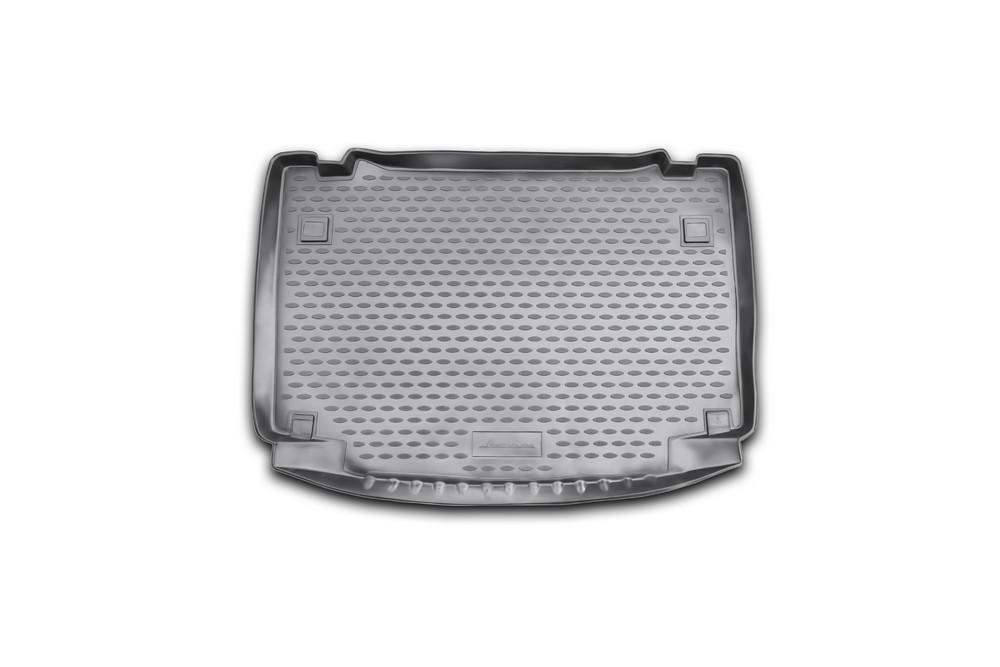 Коврик в багажник автомобиля Novline-Autofamily для Daihatsu Terios, 2006 -21395599Автомобильный коврик в багажник позволит вам без особых усилий содержать в чистоте багажный отсек вашего авто и при этом перевозить в нем абсолютно любые грузы. Такой автомобильный коврик гарантированно защитит багажник вашего автомобиля от грязи, мусора и пыли, которые постоянно скапливаются в этом отсеке. А кроме того, поддон не пропускает влагу. Все это надолго убережет важную часть кузова от износа. Мыть коврик для багажника из полиуретана можно любыми чистящими средствами или просто водой. При этом много времени уборка не отнимет, ведь полиуретан устойчив к загрязнениям.Если вам приходится перевозить в багажнике тяжелые грузы, за сохранность автоковрика можете не беспокоиться. Он сделан из прочного материала, который не деформируется при механических нагрузках и устойчив даже к экстремальным температурам. А кроме того, коврик для багажника надежно фиксируется и не сдвигается во время поездки - это дополнительная гарантия сохранности вашего багажа.