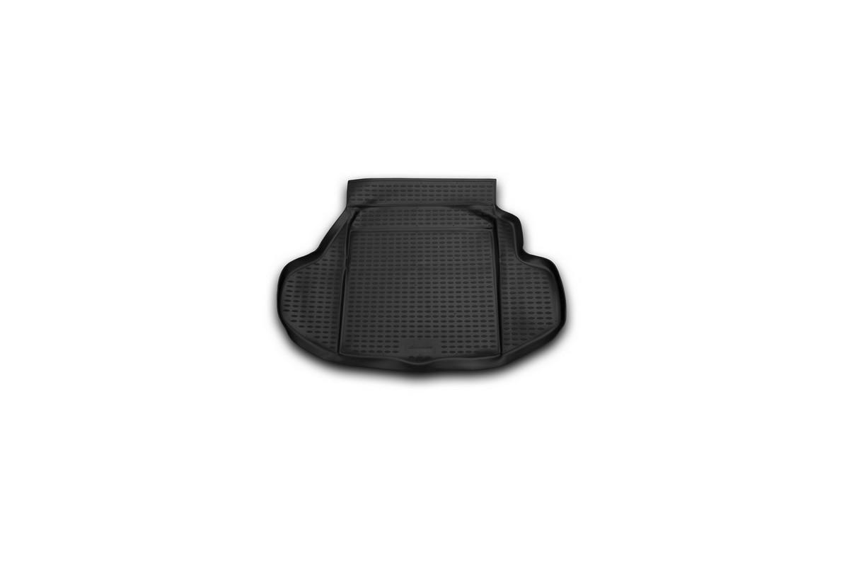 Коврик автомобильный Novline-Autofamily для Honda Legend седан 2004-, в багажник. NLC.18.10.B10NLC.18.10.B10Автомобильный коврик Novline-Autofamily, изготовленный из полиуретана, позволит вам без особых усилий содержать в чистоте багажный отсек вашего авто и при этом перевозить в нем абсолютно любые грузы. Этот модельный коврик идеально подойдет по размерам багажнику вашего автомобиля. Такой автомобильный коврик гарантированно защитит багажник от грязи, мусора и пыли, которые постоянно скапливаются в этом отсеке. А кроме того, поддон не пропускает влагу. Все это надолго убережет важную часть кузова от износа. Коврик в багажнике сильно упростит для вас уборку. Согласитесь, гораздо проще достать и почистить один коврик, нежели весь багажный отсек. Тем более, что поддон достаточно просто вынимается и вставляется обратно. Мыть коврик для багажника из полиуретана можно любыми чистящими средствами или просто водой. При этом много времени у вас уборка не отнимет, ведь полиуретан устойчив к загрязнениям.Если вам приходится перевозить в багажнике тяжелые грузы, за сохранность коврика можете не беспокоиться. Он сделан из прочного материала, который не деформируется при механических нагрузках и устойчив даже к экстремальным температурам. А кроме того, коврик для багажника надежно фиксируется и не сдвигается во время поездки, что является дополнительной гарантией сохранности вашего багажа.Коврик имеет форму и размеры, соответствующие модели данного автомобиля.