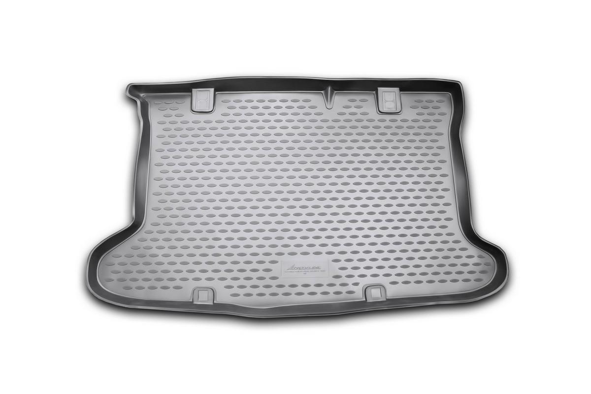 Коврик автомобильный Novline-Autofamily для Hyundai Solaris хэтчбек 2010-2014, 2014-, в багажник98298123_черныйАвтомобильный коврик Novline-Autofamily, изготовленный из полиуретана, позволит вам без особых усилий содержать в чистоте багажный отсек вашего авто и при этом перевозить в нем абсолютно любые грузы. Этот модельный коврик идеально подойдет по размерам багажнику вашего автомобиля. Такой автомобильный коврик гарантированно защитит багажник от грязи, мусора и пыли, которые постоянно скапливаются в этом отсеке. А кроме того, поддон не пропускает влагу. Все это надолго убережет важную часть кузова от износа. Коврик в багажнике сильно упростит для вас уборку. Согласитесь, гораздо проще достать и почистить один коврик, нежели весь багажный отсек. Тем более, что поддон достаточно просто вынимается и вставляется обратно. Мыть коврик для багажника из полиуретана можно любыми чистящими средствами или просто водой. При этом много времени у вас уборка не отнимет, ведь полиуретан устойчив к загрязнениям.Если вам приходится перевозить в багажнике тяжелые грузы, за сохранность коврика можете не беспокоиться. Он сделан из прочного материала, который не деформируется при механических нагрузках и устойчив даже к экстремальным температурам. А кроме того, коврик для багажника надежно фиксируется и не сдвигается во время поездки, что является дополнительной гарантией сохранности вашего багажа.Коврик имеет форму и размеры, соответствующие модели данного автомобиля.