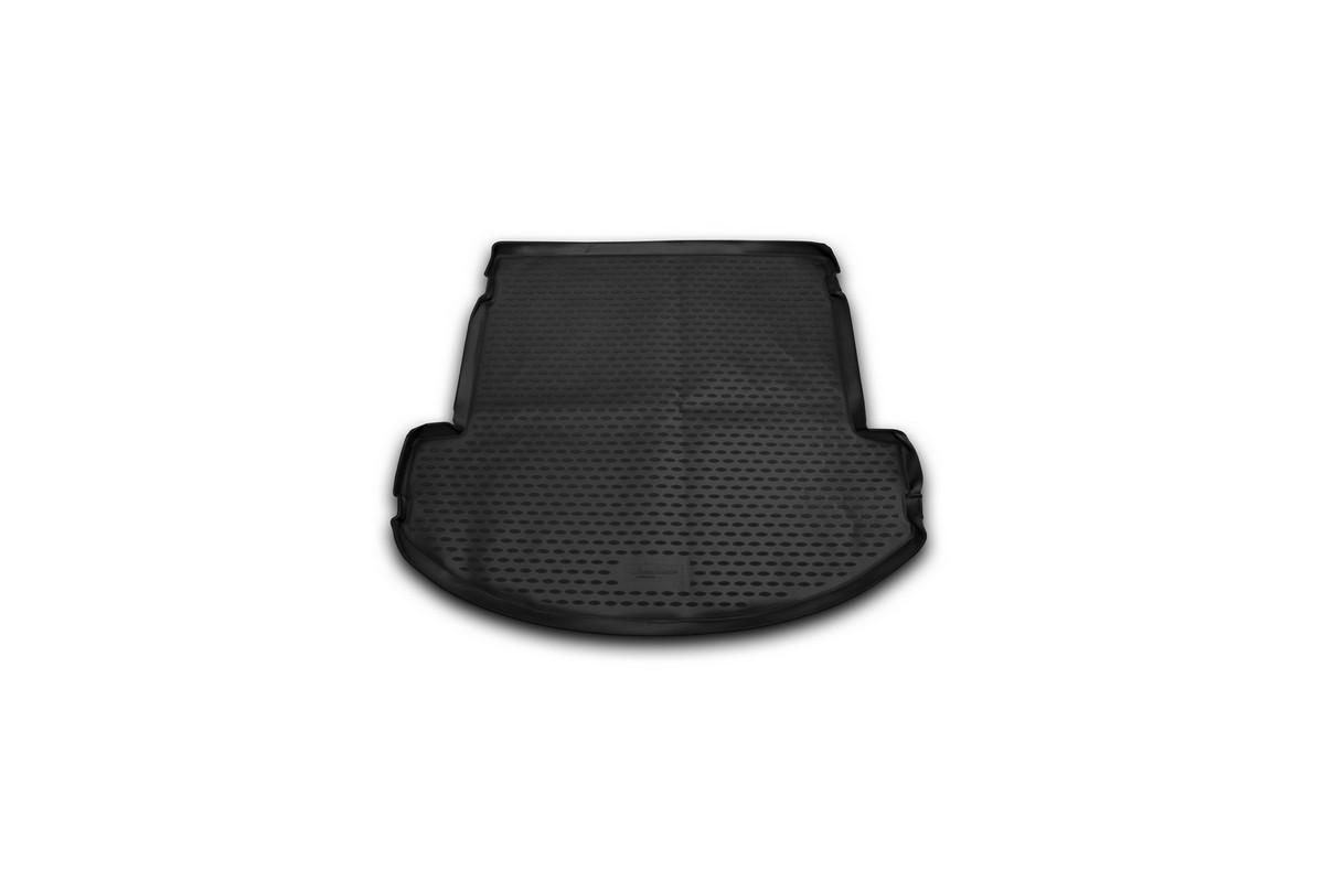 Коврик автомобильный Novline-Autofamily для Hyundai Grand Santa Fe внедорожник 2013-, в багажник98298123_черныйАвтомобильный коврик Novline-Autofamily, изготовленный из полиуретана, позволит вам без особых усилий содержать в чистоте багажный отсек вашего авто и при этом перевозить в нем абсолютно любые грузы. Этот модельный коврик идеально подойдет по размерам багажнику вашего автомобиля. Такой автомобильный коврик гарантированно защитит багажник от грязи, мусора и пыли, которые постоянно скапливаются в этом отсеке. А кроме того, поддон не пропускает влагу. Все это надолго убережет важную часть кузова от износа. Коврик в багажнике сильно упростит для вас уборку. Согласитесь, гораздо проще достать и почистить один коврик, нежели весь багажный отсек. Тем более, что поддон достаточно просто вынимается и вставляется обратно. Мыть коврик для багажника из полиуретана можно любыми чистящими средствами или просто водой. При этом много времени у вас уборка не отнимет, ведь полиуретан устойчив к загрязнениям.Если вам приходится перевозить в багажнике тяжелые грузы, за сохранность коврика можете не беспокоиться. Он сделан из прочного материала, который не деформируется при механических нагрузках и устойчив даже к экстремальным температурам. А кроме того, коврик для багажника надежно фиксируется и не сдвигается во время поездки, что является дополнительной гарантией сохранности вашего багажа.Коврик имеет форму и размеры, соответствующие модели данного автомобиля.