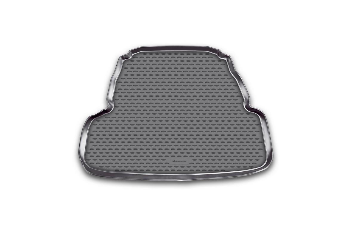 Коврик автомобильный Novline-Autofamily для Kia Cadenza седан 2011-, в багажник72/14/11Автомобильный коврик Novline-Autofamily, изготовленный из полиуретана, позволит вам без особых усилий содержать в чистоте багажный отсек вашего авто и при этом перевозить в нем абсолютно любые грузы. Этот модельный коврик идеально подойдет по размерам багажнику вашего автомобиля. Такой автомобильный коврик гарантированно защитит багажник от грязи, мусора и пыли, которые постоянно скапливаются в этом отсеке. А кроме того, поддон не пропускает влагу. Все это надолго убережет важную часть кузова от износа. Коврик в багажнике сильно упростит для вас уборку. Согласитесь, гораздо проще достать и почистить один коврик, нежели весь багажный отсек. Тем более, что поддон достаточно просто вынимается и вставляется обратно. Мыть коврик для багажника из полиуретана можно любыми чистящими средствами или просто водой. При этом много времени у вас уборка не отнимет, ведь полиуретан устойчив к загрязнениям.Если вам приходится перевозить в багажнике тяжелые грузы, за сохранность коврика можете не беспокоиться. Он сделан из прочного материала, который не деформируется при механических нагрузках и устойчив даже к экстремальным температурам. А кроме того, коврик для багажника надежно фиксируется и не сдвигается во время поездки, что является дополнительной гарантией сохранности вашего багажа.Коврик имеет форму и размеры, соответствующие модели данного автомобиля.