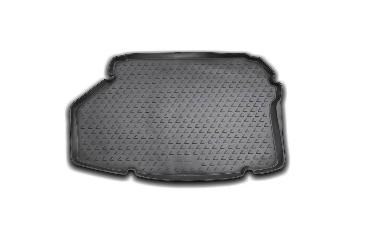Коврик автомобильный Novline-Autofamily для Lexus ES 300H седан 2012-, в багажникВетерок 2ГФАвтомобильный коврик Novline-Autofamily, изготовленный из полиуретана, позволит вам без особых усилий содержать в чистоте багажный отсек вашего авто и при этом перевозить в нем абсолютно любые грузы. Этот модельный коврик идеально подойдет по размерам багажнику вашего автомобиля. Такой автомобильный коврик гарантированно защитит багажник от грязи, мусора и пыли, которые постоянно скапливаются в этом отсеке. А кроме того, поддон не пропускает влагу. Все это надолго убережет важную часть кузова от износа. Коврик в багажнике сильно упростит для вас уборку. Согласитесь, гораздо проще достать и почистить один коврик, нежели весь багажный отсек. Тем более, что поддон достаточно просто вынимается и вставляется обратно. Мыть коврик для багажника из полиуретана можно любыми чистящими средствами или просто водой. При этом много времени у вас уборка не отнимет, ведь полиуретан устойчив к загрязнениям.Если вам приходится перевозить в багажнике тяжелые грузы, за сохранность коврика можете не беспокоиться. Он сделан из прочного материала, который не деформируется при механических нагрузках и устойчив даже к экстремальным температурам. А кроме того, коврик для багажника надежно фиксируется и не сдвигается во время поездки, что является дополнительной гарантией сохранности вашего багажа.Коврик имеет форму и размеры, соответствующие модели данного автомобиля.
