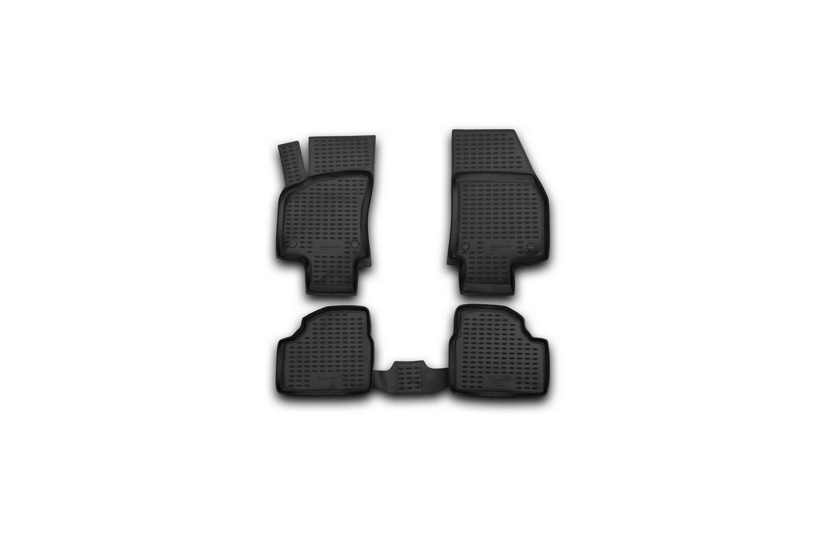 Коврики в салон автомобиля Novline-Autofamily для Opel Astra H, 2004 -, 4 штFS-80264Коврики Novline-Autofamily улучшат внешний вид салона автомобиля и надежно уберегут его от пыли, грязи и сырости, а значит, защитят кузов от коррозии. Полиуретановые коврики гладкие, приятные и не пропускает влагу. Полиуретановые автомобильные коврики произведены из высококачественного материала, который держит форму и не пачкает обувь. Коврики надежно крепятся на полу и не скользят, что очень важно во время движения, особенно для водителя. Изделия из полиуретана надежно удерживают грязь и влагу, при этом всегда выглядят довольно опрятно. И чистятся они очень просто: как при помощи автомобильного пылесоса, так и различными моющими средствами.