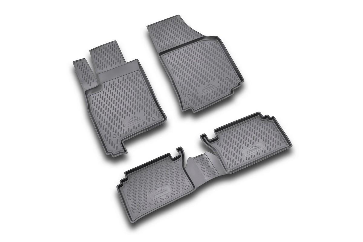 Набор автомобильных ковриков Novline-Autofamily для Opel Meriva 2002-2010, в салон, 4 шт21395599Набор автомобильных ковриков Novline-Autofamily, изготовленный из полиуретана, состоит из 4 ковриков, которые учитывают все особенности каждой модели автомобиля и полностью повторяют контуры пола. Полиуретановые автомобильные коврики для салона произведены из высококачественного материала, который держит форму, прочный и не пачкает обувь. Коврики в салон не только улучшат внешний вид салона вашего автомобиля, но и надежно уберегут его от пыли, грязи и сырости, а значит, защитят кузов от коррозии. Полиуретановые коврики для автомобиля гладкие, приятные и не пропускают влагу. Ковры для автомобилей надежно крепятся на полу и не скользят, что очень важно во время движения. Чистятся коврики очень просто: как при помощи автомобильного пылесоса, так и различными моющими средствами. Набор подходит для Opel Meriva 2002-2010 годов выпуска.