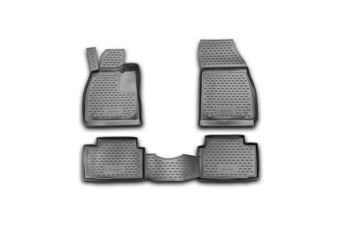 Набор автомобильных ковриков Novline-Autofamily для Opel Insignia 2008-, в салон, 4 шт. NLC.37.22.210kSC-FD421005Набор автомобильных ковриков Novline-Autofamily, изготовленный из полиуретана, состоит из 4 ковриков, которые учитывают все особенности каждой модели автомобиля и полностью повторяют контуры пола. Полиуретановые автомобильные коврики для салона произведены из высококачественного материала, который держит форму, прочный и не пачкает обувь. Коврики в салон не только улучшат внешний вид салона вашего автомобиля, но и надежно уберегут его от пыли, грязи и сырости, а значит, защитят кузов от коррозии. Полиуретановые коврики для автомобиля гладкие, приятные и не пропускают влагу. Ковры для автомобилей надежно крепятся на полу и не скользят, что очень важно во время движения. Чистятся коврики очень просто: как при помощи автомобильного пылесоса, так и различными моющими средствами. Набор подходит для Opel Insignia с 2008 года выпуска.