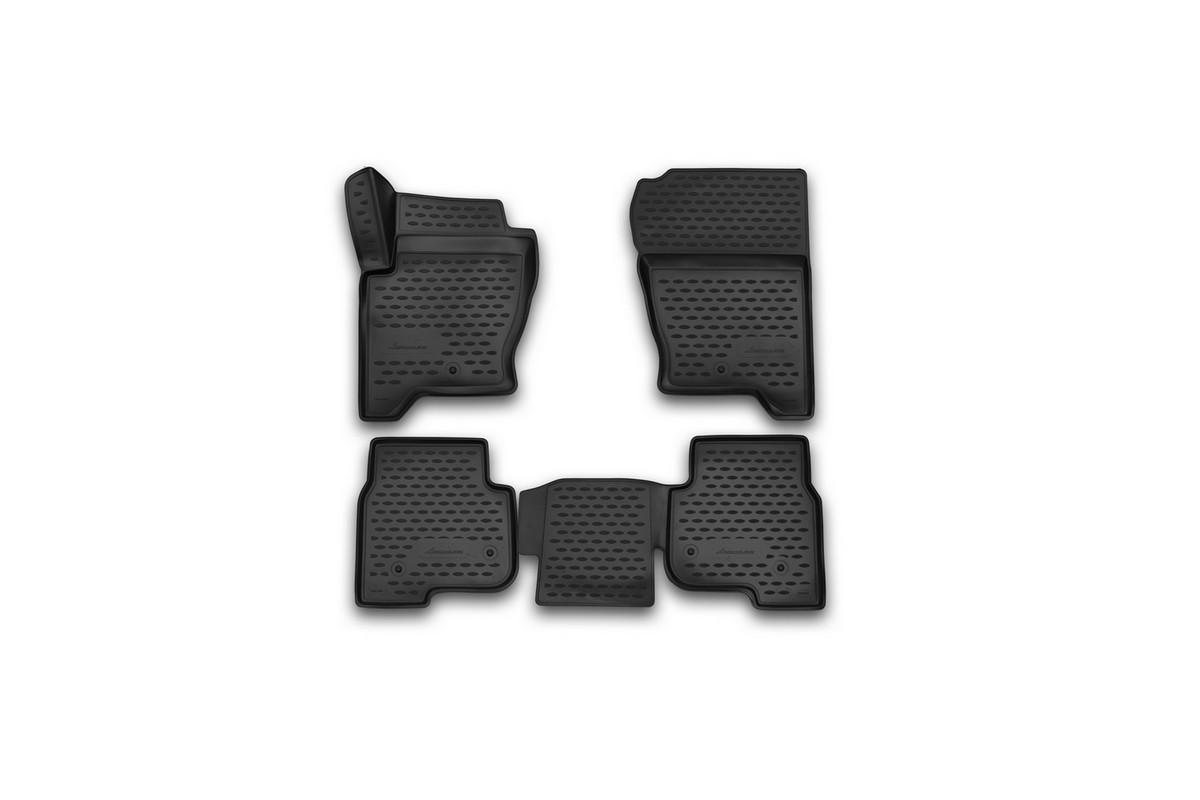 Коврики 3D в салон LAND ROVER Discovery 4, 2014->, 4 шт. (полиуретан)DH2400D/ORКоврики в салон не только улучшат внешний вид салона вашего автомобиля, но и надежно уберегут его от пыли, грязи и сырости, а значит, защитят кузов от коррозии. Полиуретановые коврики для автомобиля гладкие, приятные и не пропускают влагу. Автомобильные коврики в салон учитывают все особенности каждой модели и полностью повторяют контуры пола. Благодаря этому их не нужно будет подгибать или обрезать. И самое главное — они не будут мешать педалям.Полиуретановые автомобильные коврики для салона произведены из высококачественного материала, который держит форму и не пачкает обувь. К тому же, этот материал очень прочный (его, к примеру, не получится проткнуть каблуком).Некоторые автоковрики становятся источником неприятного запаха в автомобиле. С полиуретановыми ковриками Novline вы можете этого не бояться.Ковры для автомобилей надежно крепятся на полу и не скользят, что очень важно во время движения, особенно для водителя.Автоковры из полиуретана надежно удерживают грязь и влагу, при этом всегда выглядят довольно опрятно. И чистятся они очень просто: как при помощи автомобильного пылесоса, так и различными моющими средствами.