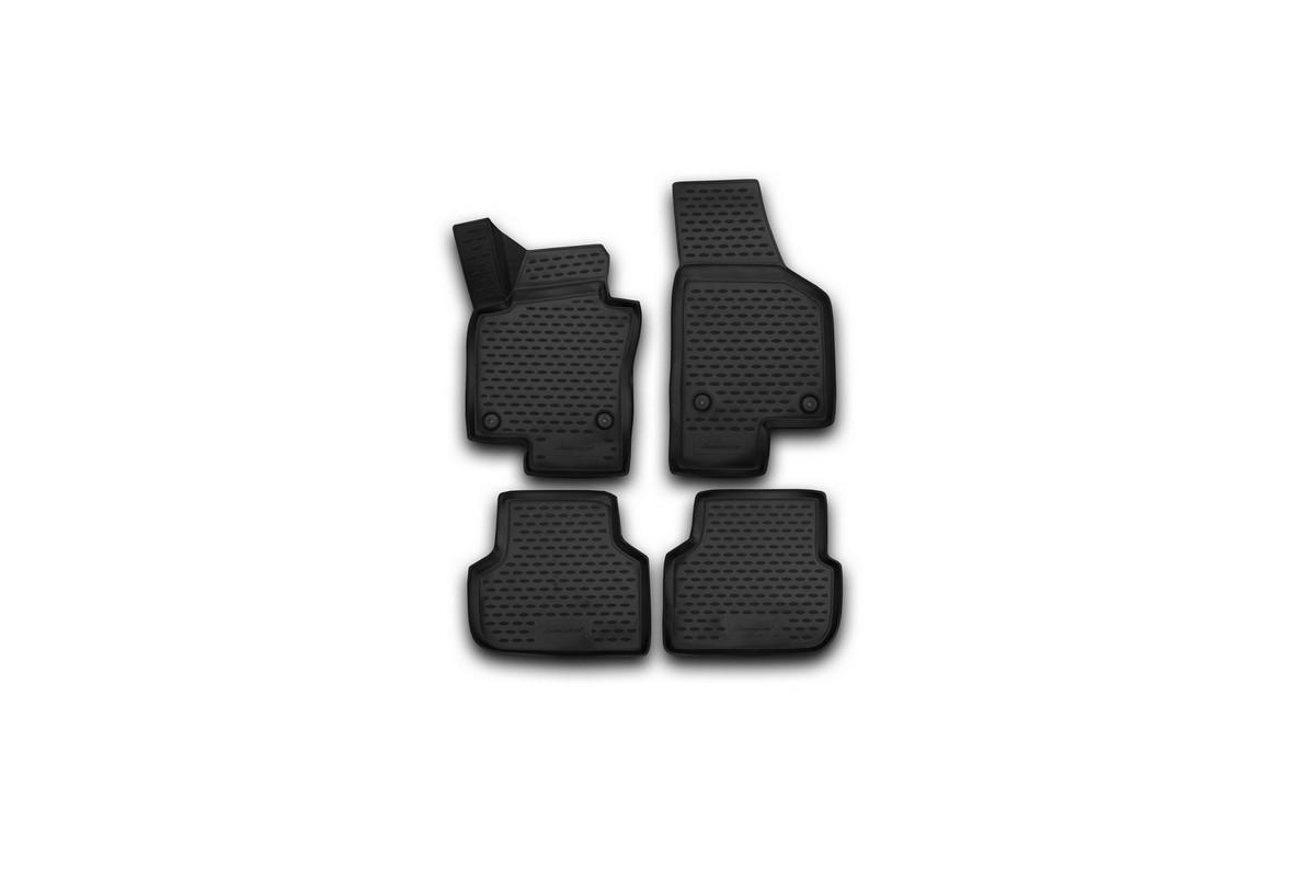 Набор автомобильных 3D-ковриков Novline-Autofamily для Volkswagen Jetta, 2011-2015, в салон, 4 штАксион Т-33Набор Novline-Autofamily состоит из 4 ковриков, изготовленных из полиуретана.Основная функция ковров - защита салона автомобиля от загрязнения и влаги. Это достигается за счет высоких бортов, перемычки на тоннель заднего ряда сидений, элементов формы и текстуры, свойств материала, а также запатентованной технологией 3D-перемычки в зоне отдыха ноги водителя, что обеспечивает дополнительную защиту, сохраняя салон автомобиля в первозданном виде.Материал, из которого сделаны коврики, обладает антискользящими свойствами. Для фиксации ковров в салоне автомобиля в комплекте с ними используются специальные крепежи. Форма передней части водительского ковра, уходящая под педаль акселератора, исключает нештатное заедание педалей.Набор подходит для Volkswagen Jetta2011-2015 года выпуска.
