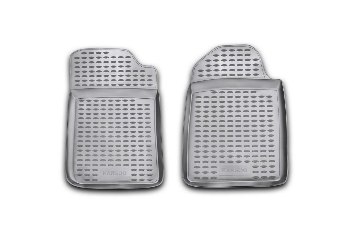 Набор автомобильных ковриков Novline-Autofamily для Renault Kangoo грузовой 1998-2013, в салон, 2 шт65805002Набор автомобильных ковриков Novline-Autofamily, изготовленный из полиуретана, состоит из 2 ковриков, которые учитывают все особенности каждой модели автомобиля и полностью повторяют контуры пола. Полиуретановые автомобильные коврики для салона произведены из высококачественного материала, который держит форму, прочный и не пачкает обувь. Коврики в салон не только улучшат внешний вид салона вашего автомобиля, но и надежно уберегут его от пыли, грязи и сырости, а значит, защитят кузов от коррозии. Полиуретановые коврики для автомобиля гладкие, приятные и не пропускают влагу. Ковры для автомобилей надежно крепятся на полу и не скользят, что очень важно во время движения. Чистятся коврики очень просто: как при помощи автомобильного пылесоса, так и различными моющими средствами. Набор подходит для Renault Kangoo грузовой 1998-2013 годов выпуска.