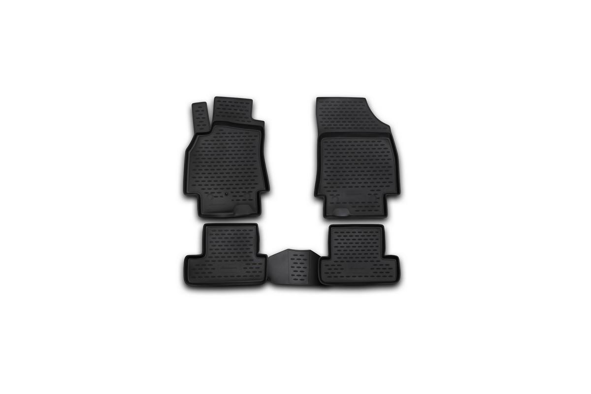 Набор автомобильных ковриков Novline-Autofamily для Renault Megane Coupe 03/2010-, в салон, 4 шт. NLC.41.20.210kNLC.41.20.210kНабор автомобильных ковриков Novline-Autofamily, изготовленный из полиуретана, состоит из 4 ковриков, которые учитывают все особенности каждой модели автомобиля и полностью повторяют контуры пола. Полиуретановые автомобильные коврики для салона произведены из высококачественного материала, который держит форму, прочный и не пачкает обувь. Коврики в салон не только улучшат внешний вид салона вашего автомобиля, но и надежно уберегут его от пыли, грязи и сырости, а значит, защитят кузов от коррозии. Полиуретановые коврики для автомобиля гладкие, приятные и не пропускают влагу. Ковры для автомобилей надежно крепятся на полу и не скользят, что очень важно во время движения. Чистятся коврики очень просто: как при помощи автомобильного пылесоса, так и различными моющими средствами. Набор подходит для Renault Megane Coupe с марта 2010 года выпуска.