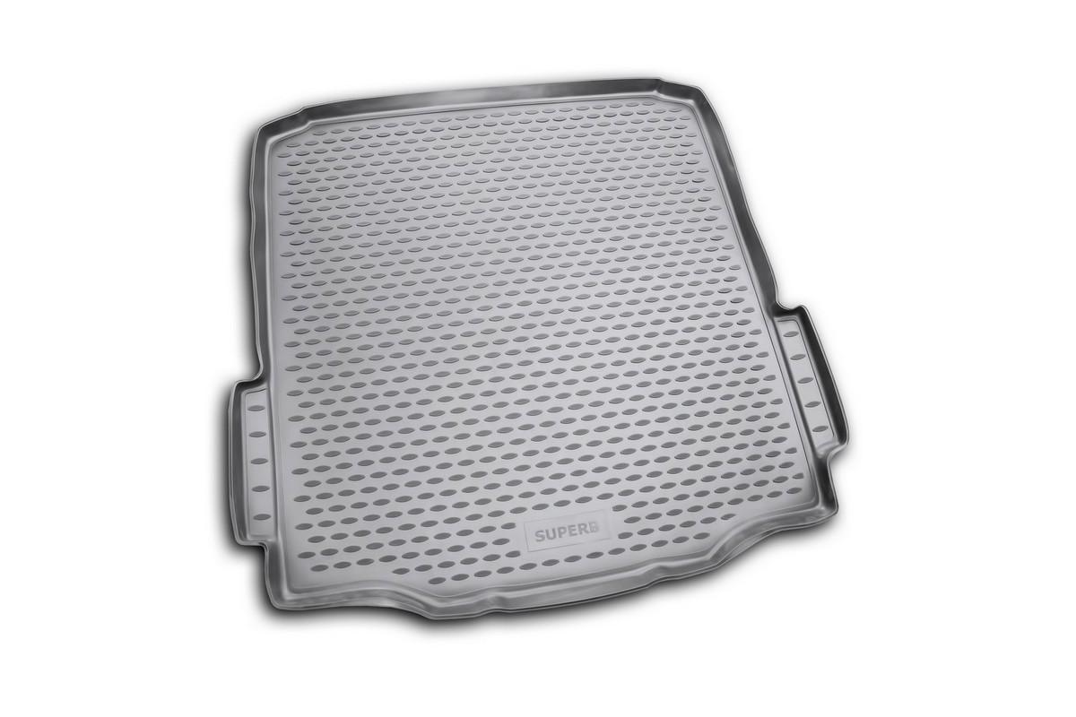 Коврик автомобильный Novline-Autofamily для Skoda Superb седан 2008-, в багажникABS-14,4 Sli BMCАвтомобильный коврик Novline-Autofamily, изготовленный из полиуретана, позволит вам без особых усилий содержать в чистоте багажный отсек вашего авто и при этом перевозить в нем абсолютно любые грузы. Этот модельный коврик идеально подойдет по размерам багажнику вашего автомобиля. Такой автомобильный коврик гарантированно защитит багажник от грязи, мусора и пыли, которые постоянно скапливаются в этом отсеке. А кроме того, поддон не пропускает влагу. Все это надолго убережет важную часть кузова от износа. Коврик в багажнике сильно упростит для вас уборку. Согласитесь, гораздо проще достать и почистить один коврик, нежели весь багажный отсек. Тем более, что поддон достаточно просто вынимается и вставляется обратно. Мыть коврик для багажника из полиуретана можно любыми чистящими средствами или просто водой. При этом много времени у вас уборка не отнимет, ведь полиуретан устойчив к загрязнениям.Если вам приходится перевозить в багажнике тяжелые грузы, за сохранность коврика можете не беспокоиться. Он сделан из прочного материала, который не деформируется при механических нагрузках и устойчив даже к экстремальным температурам. А кроме того, коврик для багажника надежно фиксируется и не сдвигается во время поездки, что является дополнительной гарантией сохранности вашего багажа.Коврик имеет форму и размеры, соответствующие модели данного автомобиля.