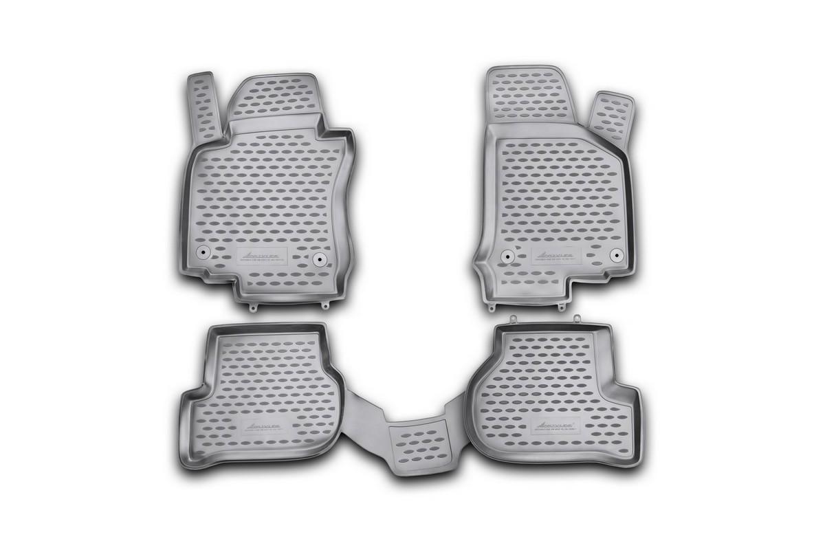 Коврики в салон VW Golf VI 04/2009->, хб., 4 шт., без подлок. (полиуретан)21395599Коврики в салон не только улучшат внешний вид салона вашего автомобиля, но и надежно уберегут его от пыли, грязи и сырости, а значит, защитят кузов от коррозии. Полиуретановые коврики для автомобиля гладкие, приятные и не пропускают влагу. Автомобильные коврики в салон учитывают все особенности каждой модели и полностью повторяют контуры пола. Благодаря этому их не нужно будет подгибать или обрезать. И самое главное — они не будут мешать педалям.Полиуретановые автомобильные коврики для салона произведены из высококачественного материала, который держит форму и не пачкает обувь. К тому же, этот материал очень прочный (его, к примеру, не получится проткнуть каблуком).Некоторые автоковрики становятся источником неприятного запаха в автомобиле. С полиуретановыми ковриками Novline вы можете этого не бояться.Ковры для автомобилей надежно крепятся на полу и не скользят, что очень важно во время движения, особенно для водителя.Автоковры из полиуретана надежно удерживают грязь и влагу, при этом всегда выглядят довольно опрятно. И чистятся они очень просто: как при помощи автомобильного пылесоса, так и различными моющими средствами.