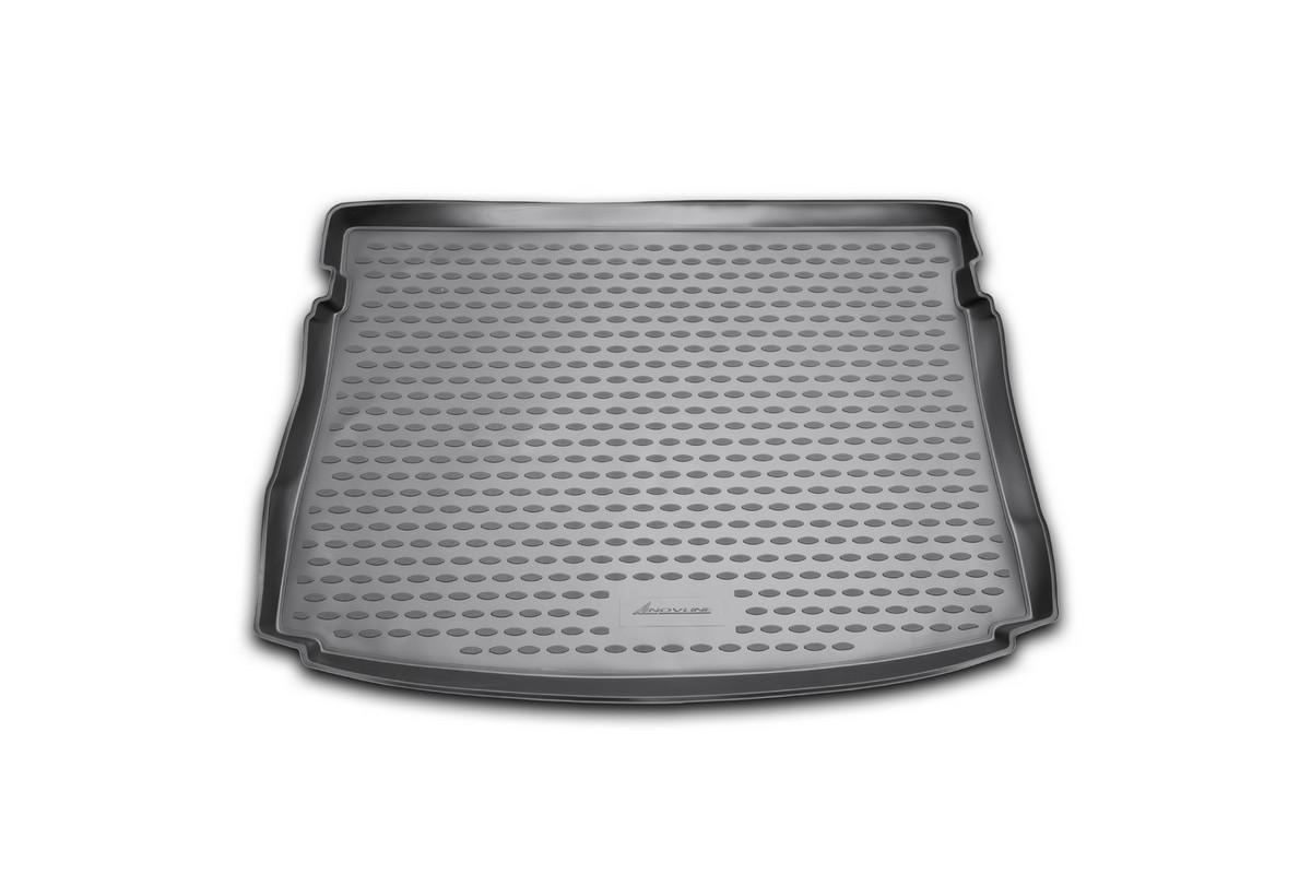 Коврик автомобильный Novline-Autofamily для Volkswagen Golf VII хэтчбек 2013-, в багажник300159Автомобильный коврик Novline-Autofamily, изготовленный из полиуретана, позволит вам без особых усилий содержать в чистоте багажный отсек вашего авто и при этом перевозить в нем абсолютно любые грузы. Этот модельный коврик идеально подойдет по размерам багажнику вашего автомобиля. Такой автомобильный коврик гарантированно защитит багажник от грязи, мусора и пыли, которые постоянно скапливаются в этом отсеке. А кроме того, поддон не пропускает влагу. Все это надолго убережет важную часть кузова от износа. Коврик в багажнике сильно упростит для вас уборку. Согласитесь, гораздо проще достать и почистить один коврик, нежели весь багажный отсек. Тем более, что поддон достаточно просто вынимается и вставляется обратно. Мыть коврик для багажника из полиуретана можно любыми чистящими средствами или просто водой. При этом много времени у вас уборка не отнимет, ведь полиуретан устойчив к загрязнениям.Если вам приходится перевозить в багажнике тяжелые грузы, за сохранность коврика можете не беспокоиться. Он сделан из прочного материала, который не деформируется при механических нагрузках и устойчив даже к экстремальным температурам. А кроме того, коврик для багажника надежно фиксируется и не сдвигается во время поездки, что является дополнительной гарантией сохранности вашего багажа.Коврик имеет форму и размеры, соответствующие модели данного автомобиля.