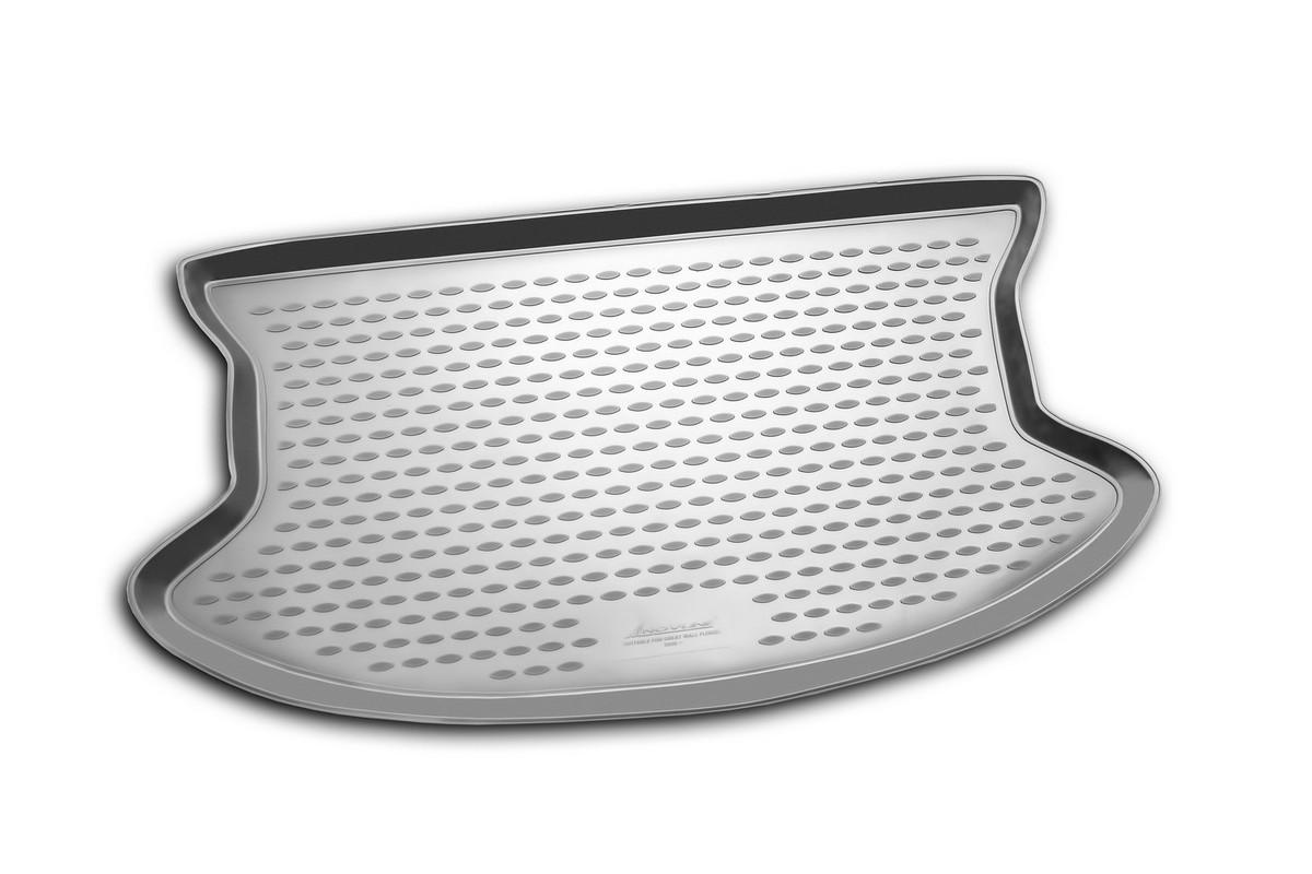 Коврик автомобильный Novline-Autofamily для Great Wall Florid 2008-, в багажник0205010301Автомобильный коврик Novline-Autofamily, изготовленный из полиуретана, позволит вам без особых усилий содержать в чистоте багажный отсек вашего авто и при этом перевозить в нем абсолютно любые грузы. Этот модельный коврик идеально подойдет по размерам багажнику вашего автомобиля. Такой автомобильный коврик гарантированно защитит багажник от грязи, мусора и пыли, которые постоянно скапливаются в этом отсеке. А кроме того, поддон не пропускает влагу. Все это надолго убережет важную часть кузова от износа. Коврик в багажнике сильно упростит для вас уборку. Согласитесь, гораздо проще достать и почистить один коврик, нежели весь багажный отсек. Тем более, что поддон достаточно просто вынимается и вставляется обратно. Мыть коврик для багажника из полиуретана можно любыми чистящими средствами или просто водой. При этом много времени у вас уборка не отнимет, ведь полиуретан устойчив к загрязнениям.Если вам приходится перевозить в багажнике тяжелые грузы, за сохранность коврика можете не беспокоиться. Он сделан из прочного материала, который не деформируется при механических нагрузках и устойчив даже к экстремальным температурам. А кроме того, коврик для багажника надежно фиксируется и не сдвигается во время поездки, что является дополнительной гарантией сохранности вашего багажа.Коврик имеет форму и размеры, соответствующие модели данного автомобиля.