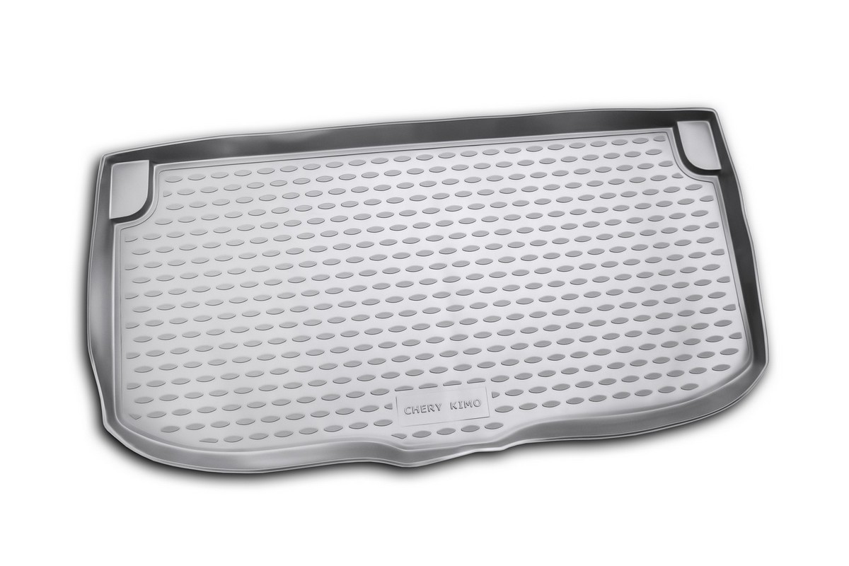 Коврик автомобильный Novline-Autofamily для Chery Kimo хэтчбек 01/2008-, в багажник0134030101Автомобильный коврик Novline-Autofamily, изготовленный из полиуретана, позволит вам без особых усилий содержать в чистоте багажный отсек вашего авто и при этом перевозить в нем абсолютно любые грузы. Этот модельный коврик идеально подойдет по размерам багажнику вашего автомобиля. Такой автомобильный коврик гарантированно защитит багажник от грязи, мусора и пыли, которые постоянно скапливаются в этом отсеке. А кроме того, поддон не пропускает влагу. Все это надолго убережет важную часть кузова от износа. Коврик в багажнике сильно упростит для вас уборку. Согласитесь, гораздо проще достать и почистить один коврик, нежели весь багажный отсек. Тем более, что поддон достаточно просто вынимается и вставляется обратно. Мыть коврик для багажника из полиуретана можно любыми чистящими средствами или просто водой. При этом много времени у вас уборка не отнимет, ведь полиуретан устойчив к загрязнениям.Если вам приходится перевозить в багажнике тяжелые грузы, за сохранность коврика можете не беспокоиться. Он сделан из прочного материала, который не деформируется при механических нагрузках и устойчив даже к экстремальным температурам. А кроме того, коврик для багажника надежно фиксируется и не сдвигается во время поездки, что является дополнительной гарантией сохранности вашего багажа.Коврик имеет форму и размеры, соответствующие модели данного автомобиля.