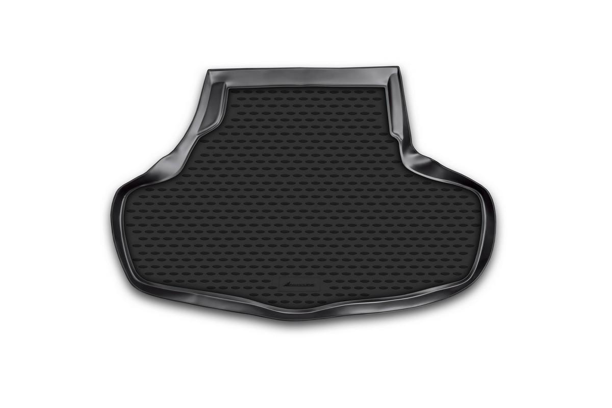 Коврик автомобильный Novline-Autofamily для Infinity G37X седан 2001, 2009-, в багажник. NLC.76.06.B10F0156110LAАвтомобильный коврик Novline-Autofamily, изготовленный из полиуретана, позволит вам без особых усилий содержать в чистоте багажный отсек вашего авто и при этом перевозить в нем абсолютно любые грузы. Этот модельный коврик идеально подойдет по размерам багажнику вашего автомобиля. Такой автомобильный коврик гарантированно защитит багажник от грязи, мусора и пыли, которые постоянно скапливаются в этом отсеке. А кроме того, поддон не пропускает влагу. Все это надолго убережет важную часть кузова от износа. Коврик в багажнике сильно упростит для вас уборку. Согласитесь, гораздо проще достать и почистить один коврик, нежели весь багажный отсек. Тем более, что поддон достаточно просто вынимается и вставляется обратно. Мыть коврик для багажника из полиуретана можно любыми чистящими средствами или просто водой. При этом много времени у вас уборка не отнимет, ведь полиуретан устойчив к загрязнениям.Если вам приходится перевозить в багажнике тяжелые грузы, за сохранность коврика можете не беспокоиться. Он сделан из прочного материала, который не деформируется при механических нагрузках и устойчив даже к экстремальным температурам. А кроме того, коврик для багажника надежно фиксируется и не сдвигается во время поездки, что является дополнительной гарантией сохранности вашего багажа.Коврик имеет форму и размеры, соответствующие модели данного автомобиля.