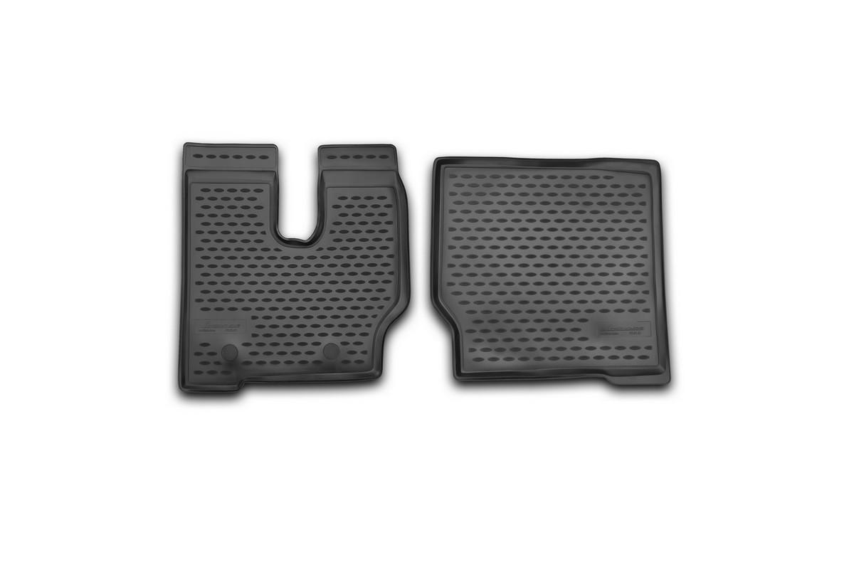 Коврики в салон автомобиля Novline-Autofamily для Shacman F 2000, 2013 - 2014, 2 шт98291124Коврики Novline-Autofamily улучшат внешний вид салона автомобиля и надежно уберегут его от пыли, грязи и сырости, а значит, защитят кузов от коррозии. Полиуретановые коврики гладкие, приятные и не пропускает влагу. Полиуретановые автомобильные коврики произведены из высококачественного материала, который держит форму и не пачкает обувь. Коврики надежно крепятся на полу и не скользят, что очень важно во время движения, особенно для водителя. Изделия из полиуретана надежно удерживают грязь и влагу, при этом всегда выглядят довольно опрятно. И чистятся они очень просто: как при помощи автомобильного пылесоса, так и различными моющими средствами.