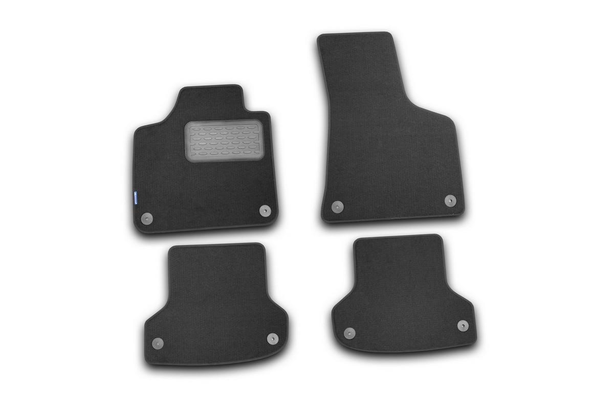 Коврики в салон AUDI A3 5D АКПП 2007->, хб., 4 шт. (текстиль). NLT.04.10.22.110kh21395599Коврики в салон не только улучшат внешний вид салона вашего автомобиля, но и надежно уберегут его от пыли, грязи и сырости, а значит, защитят кузов от коррозии. Текстильные коврики для автомобиля мягкие и приятные, а их основа из вспененного полиуретана не пропускает влагу.. Автомобильные коврики в салон учитывают все особенности каждой модели авто и полностью повторяют контуры пола. Благодаря этому их не нужно будет подгибать или обрезать. И самое главное — они не будут мешать педалям.Текстильные автомобильные коврики для салона произведены из высококачественного материала, который держит форму и не пачкает обувь. К тому же, этот материал очень прочный (его, к примеру, не получится проткнуть каблуком). Некоторые автоковрики становятся источником неприятного запаха в автомобиле. С текстильными ковриками Novline вы можете этого не бояться. Ковры для автомобилей надежно крепятся на полу и не скользят, что очень важно во время движения, особенно для водителя. Автоковры из текстиля с основой из вспененного полиуретана легко впитывают и надежно удерживают грязь и влагу, при этом всегда выглядят довольно опрятно. И чистятся они очень просто: как при помощи автомобильного пылесоса, так и различными моющими средствами.