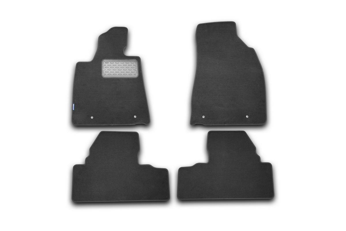 Набор автомобильных ковриков Novline-Autofamily для Lexus RX 350 2009-, внедорожник, в салон, 4 шт94672Набор автомобильных ковриков Novline-Autofamily, изготовленный из текстиля, состоит из 4 ковриков, которые учитывают все особенности каждой модели автомобиля и полностью повторяют контуры пола. Текстильные автомобильные коврики для салона произведены из высококачественного материала, который держит форму, прочный и не пачкает обувь. Коврики в салон не только улучшат внешний вид салона вашего автомобиля, но и надежно уберегут его от пыли, грязи и сырости, а значит, защитят кузов от коррозии. Текстильные коврики для автомобиля мягкие и приятные, а их основа из вспененного полиуретана не пропускает влагу. Ковры для автомобилей надежно крепятся на полу и не скользят, что очень важно во время движения. Чистятся коврики очень просто: как при помощи автомобильного пылесоса, так и различными моющими средствами. Набор подходит для Lexus RX 350 внедорожник с 2009 года выпуска.