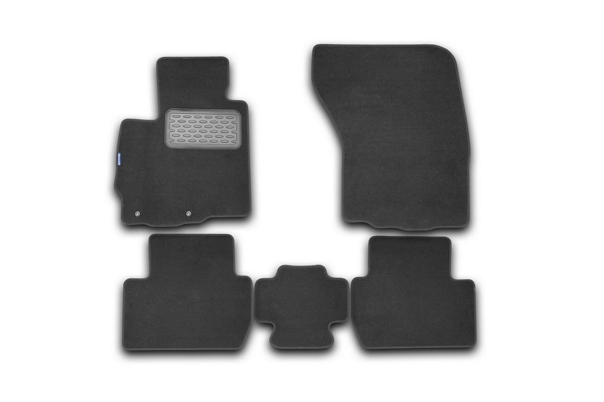 Набор автомобильных ковриков Novline-Autofamily для Mitsubishi Outlander XL 2010-, внедорожник, в салон, 5 штВетерок 2ГФНабор автомобильных ковриков Novline-Autofamily, изготовленный из текстиля, состоит из 5 ковриков, которые учитывают все особенности каждой модели автомобиля и полностью повторяют контуры пола. Текстильные автомобильные коврики для салона произведены из высококачественного материала, который держит форму, прочный и не пачкает обувь. Коврики в салон не только улучшат внешний вид салона вашего автомобиля, но и надежно уберегут его от пыли, грязи и сырости, а значит, защитят кузов от коррозии. Текстильные коврики для автомобиля мягкие и приятные, а их основа из вспененного полиуретана не пропускает влагу. Ковры для автомобилей надежно крепятся на полу и не скользят, что очень важно во время движения. Чистятся коврики очень просто: как при помощи автомобильного пылесоса, так и различными моющими средствами. Набор подходит для Mitsubishi Outlander XL внедорожник с 2010 года выпуска.