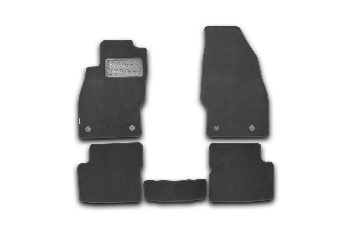 Набор автомобильных ковриков Novline-Autofamily для Opel Corsa D 3D, 5D 2006-, хэтчбек, в салон, 5 штSC-FD421005Набор автомобильных ковриков Novline-Autofamily, изготовленный из текстиля, состоит из 5 ковриков, которые учитывают все особенности каждой модели автомобиля и полностью повторяют контуры пола. Текстильные автомобильные коврики для салона произведены из высококачественного материала, который держит форму, прочный и не пачкает обувь. Коврики в салон не только улучшат внешний вид салона вашего автомобиля, но и надежно уберегут его от пыли, грязи и сырости, а значит, защитят кузов от коррозии. Текстильные коврики для автомобиля мягкие и приятные, а их основа из вспененного полиуретана не пропускает влагу. Ковры для автомобилей надежно крепятся на полу и не скользят, что очень важно во время движения. Чистятся коврики очень просто: как при помощи автомобильного пылесоса, так и различными моющими средствами. Набор подходит для Opel Corsa D 3D, 5D с 2006 года выпуска.