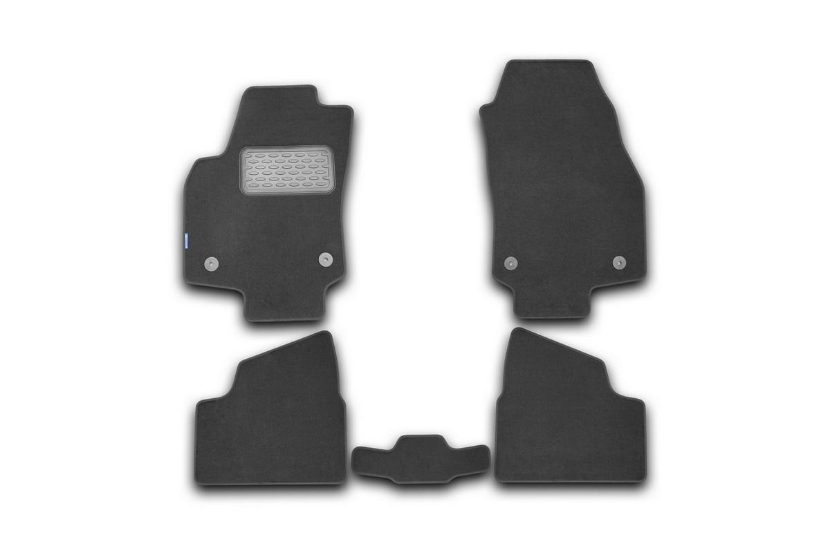 Набор автомобильных ковриков Novline-Autofamily для Opel Astra H Caravan 2004-, универсал, в салон, 5 шт98298123_черныйНабор автомобильных ковриков Novline-Autofamily, изготовленный из текстиля, состоит из 5 ковриков, которые учитывают все особенности каждой модели автомобиля и полностью повторяют контуры пола. Текстильные автомобильные коврики для салона произведены из высококачественного материала, который держит форму, прочный и не пачкает обувь. Коврики в салон не только улучшат внешний вид салона вашего автомобиля, но и надежно уберегут его от пыли, грязи и сырости, а значит, защитят кузов от коррозии. Текстильные коврики для автомобиля мягкие и приятные, а их основа из вспененного полиуретана не пропускает влагу. Ковры для автомобилей надежно крепятся на полу и не скользят, что очень важно во время движения. Чистятся коврики очень просто: как при помощи автомобильного пылесоса, так и различными моющими средствами. Набор подходит для Opel Astra H Caravan универсал с 2004 года выпуска.