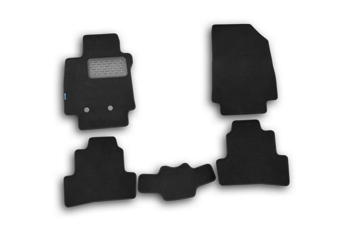 Набор автомобильных ковриков Novline-Autofamily для Renault Clio III 2009-, хэтчбек, в салон, 5 штVT-1520(SR)Набор автомобильных ковриков Novline-Autofamily, изготовленный из текстиля, состоит из 5 ковриков, которые учитывают все особенности каждой модели автомобиля и полностью повторяют контуры пола. Текстильные автомобильные коврики для салона произведены из высококачественного материала, который держит форму, прочный и не пачкает обувь. Коврики в салон не только улучшат внешний вид салона вашего автомобиля, но и надежно уберегут его от пыли, грязи и сырости, а значит, защитят кузов от коррозии. Текстильные коврики для автомобиля мягкие и приятные, а их основа из вспененного полиуретана не пропускает влагу. Ковры для автомобилей надежно крепятся на полу и не скользят, что очень важно во время движения. Чистятся коврики очень просто: как при помощи автомобильного пылесоса, так и различными моющими средствами. Набор подходит для Renault Clio III хэтчбек с 2009 года выпуска.