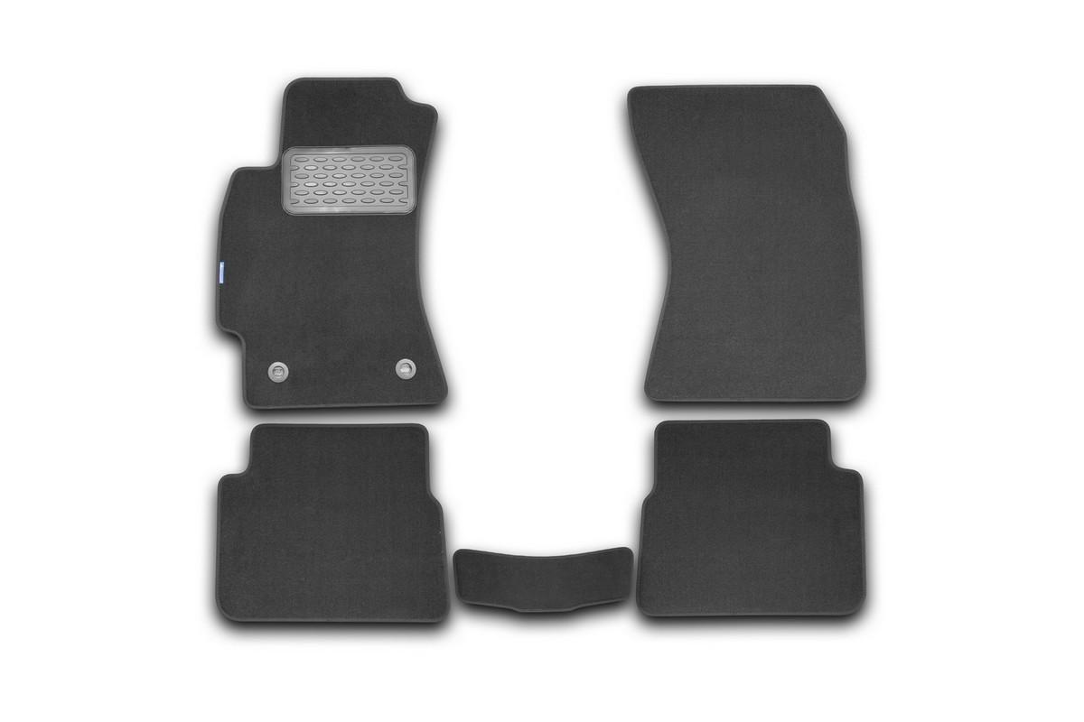 Набор автомобильных ковриков Novline-Autofamily для Subaru Forester 2010-2012, внедорожник, в салон, 5 шт. NLT.46.15.22.110kh21395599Набор автомобильных ковриков Novline-Autofamily, изготовленный из текстиля, состоит из 5 ковриков, которые учитывают все особенности каждой модели автомобиля и полностью повторяют контуры пола. Текстильные автомобильные коврики для салона произведены из высококачественного материала, который держит форму, прочный и не пачкает обувь. Коврики в салон не только улучшат внешний вид салона вашего автомобиля, но и надежно уберегут его от пыли, грязи и сырости, а значит, защитят кузов от коррозии. Текстильные коврики для автомобиля мягкие и приятные, а их основа из вспененного полиуретана не пропускает влагу. Ковры для автомобилей надежно крепятся на полу и не скользят, что очень важно во время движения. Чистятся коврики очень просто: как при помощи автомобильного пылесоса, так и различными моющими средствами. Набор подходит для Subaru Forester внедорожник 2010-2012 годов выпуска.