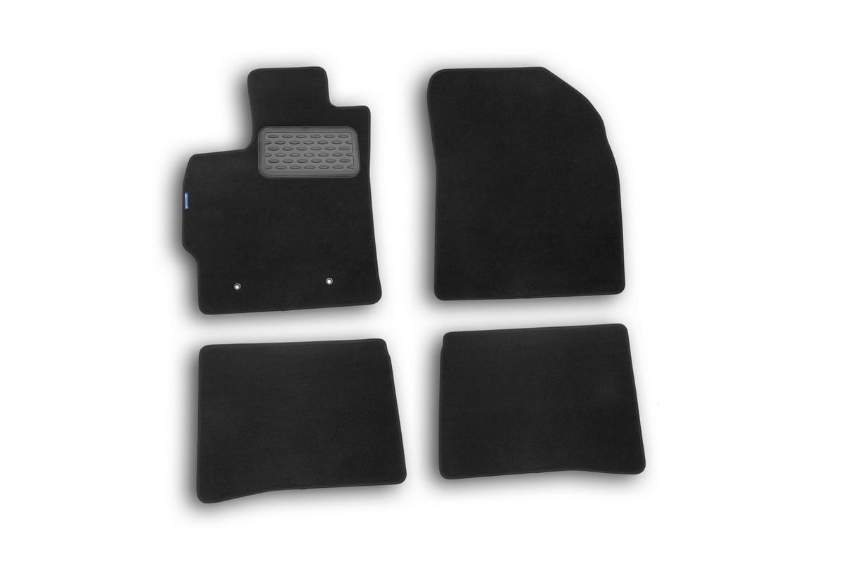 Набор автомобильных ковриков Novline-Autofamily для Toyota Prius 2010-, хэтчбек, в салон, 4 штKVR01411801200kНабор автомобильных ковриков Novline-Autofamily, изготовленный из текстиля, состоит из 4 ковриков, которые учитывают все особенности каждой модели автомобиля и полностью повторяют контуры пола. Текстильные автомобильные коврики для салона произведены из высококачественного материала, который держит форму, прочный и не пачкает обувь. Коврики в салон не только улучшат внешний вид салона вашего автомобиля, но и надежно уберегут его от пыли, грязи и сырости, а значит, защитят кузов от коррозии. Текстильные коврики для автомобиля мягкие и приятные, а их основа из вспененного полиуретана не пропускает влагу. Ковры для автомобилей надежно крепятся на полу и не скользят, что очень важно во время движения. Чистятся коврики очень просто: как при помощи автомобильного пылесоса, так и различными моющими средствами. Набор подходит для Toyota Prius хэтчбек с 2010 года выпуска.